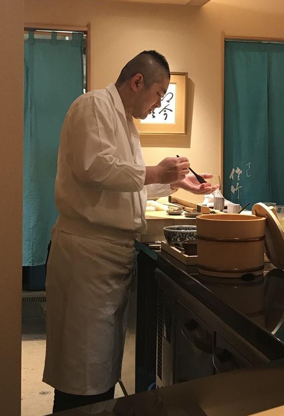 satake san edomae sushi at Sushi Satake in Tokyo