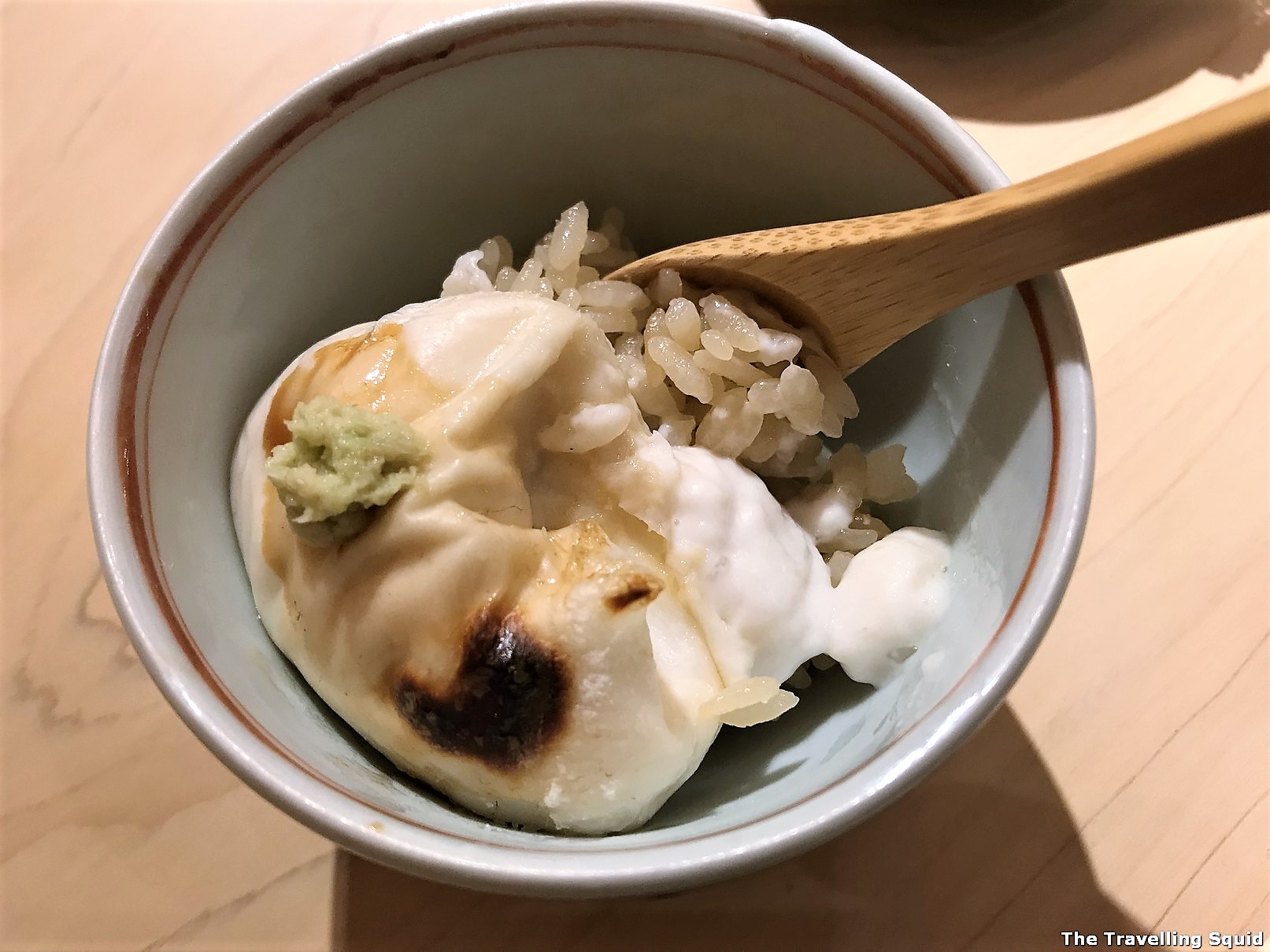shirako cod sperm sac edomae sushi at Sushi Satake in Tokyo