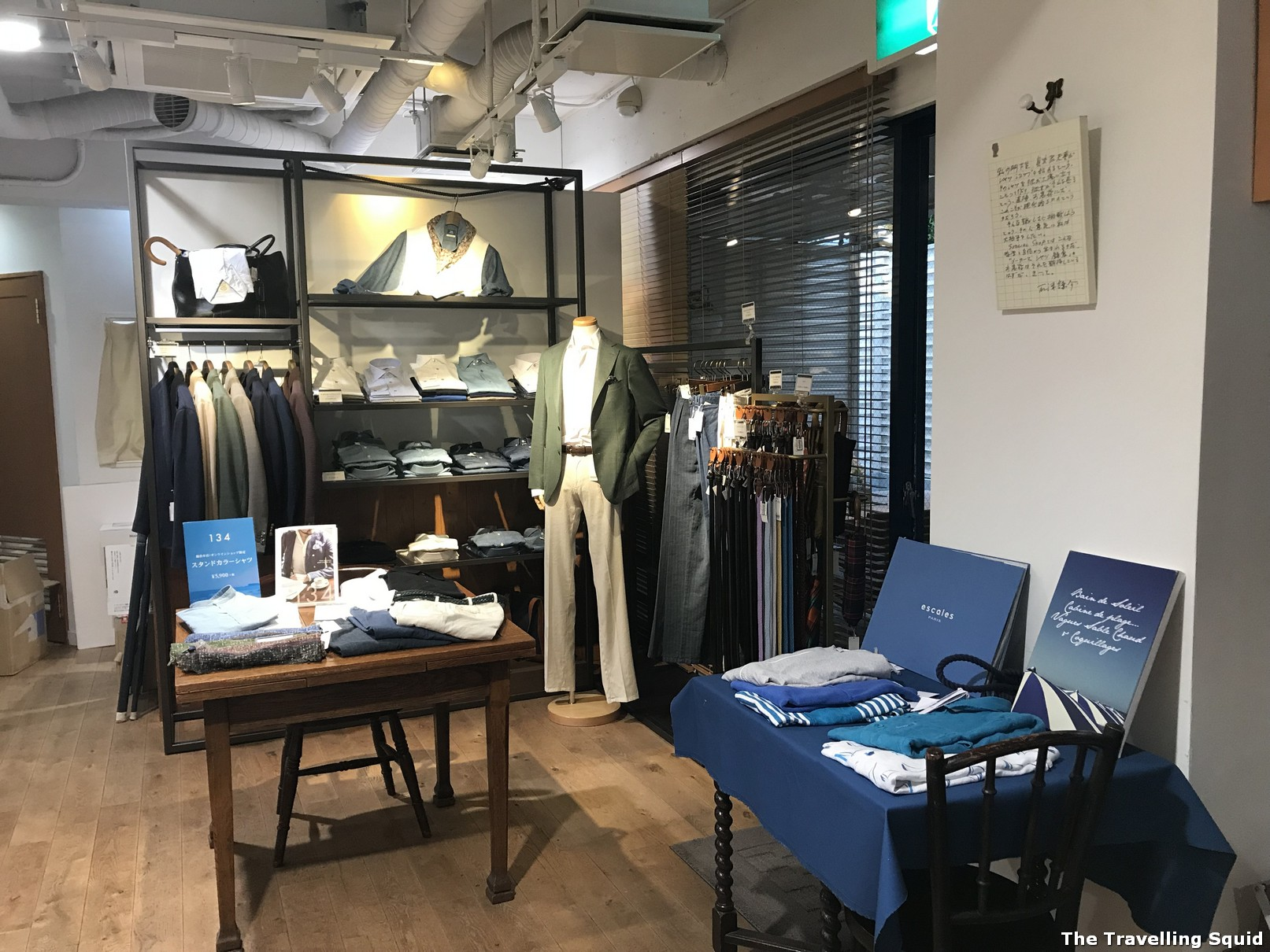 Kamakura Shirts is a must visit while in Kamakura