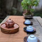 Review: Having Pu Er tea at the Qiao Bing Shan Fang tea house in Shanghai (敲冰山房)