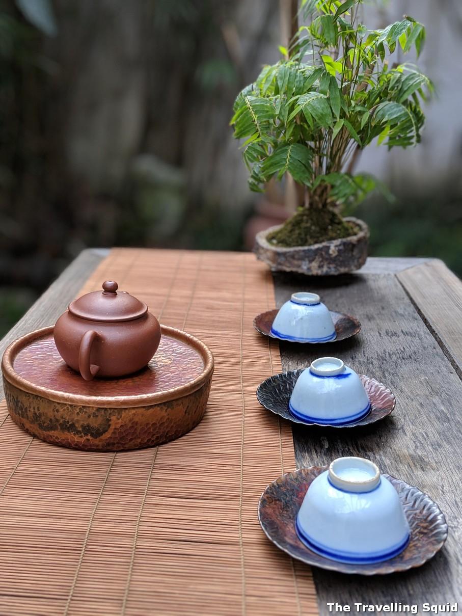 Qiao Bing Shan Fang tea house in Shanghai