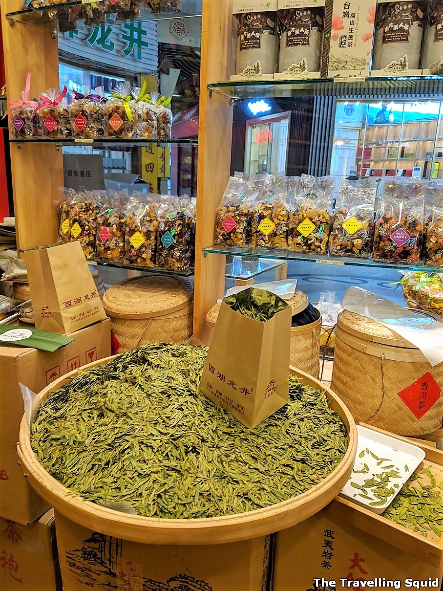 long jing from Tianshan Tea City in Shanghai