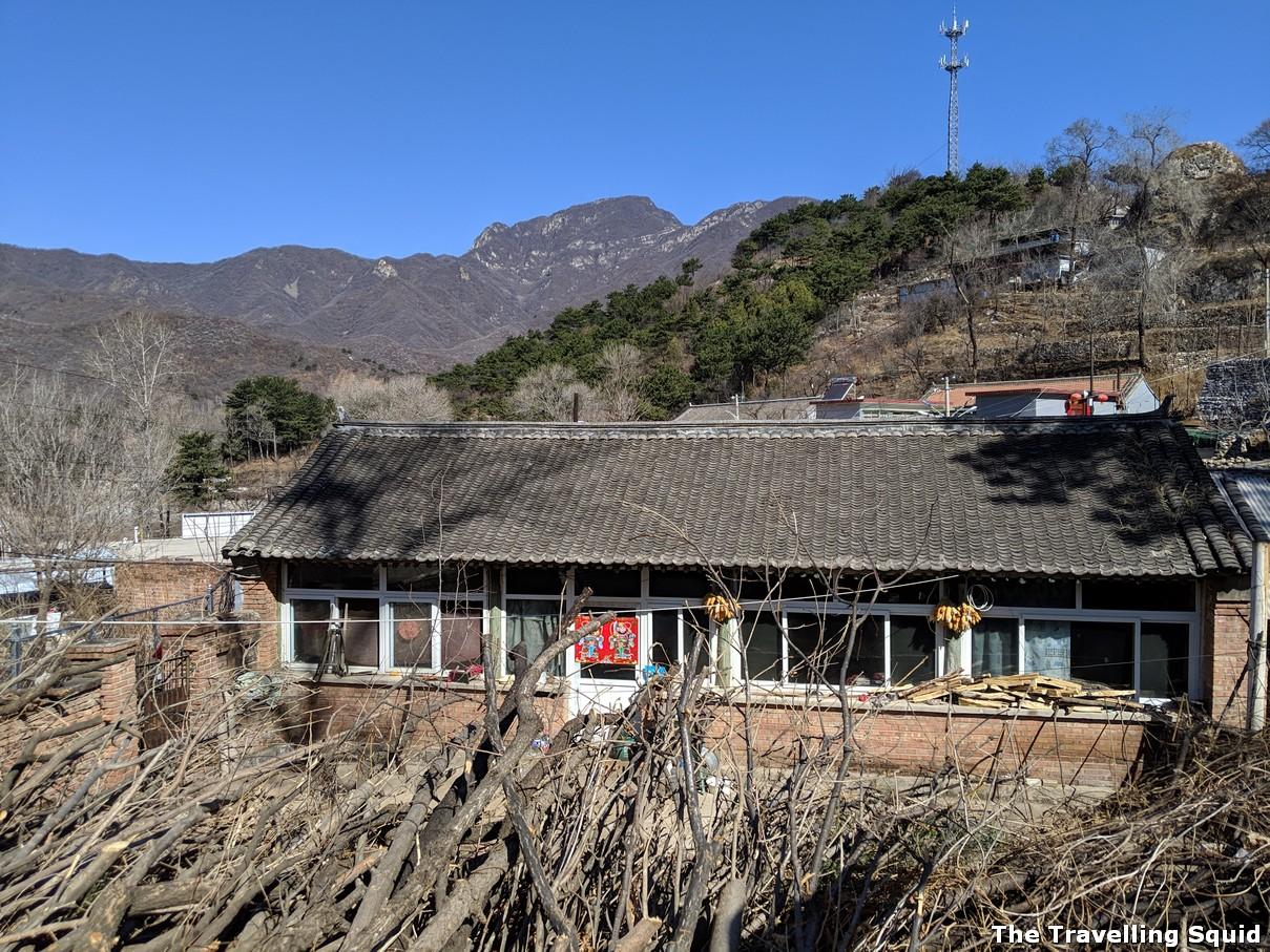 xizhazi village great wall jiankou beijing china