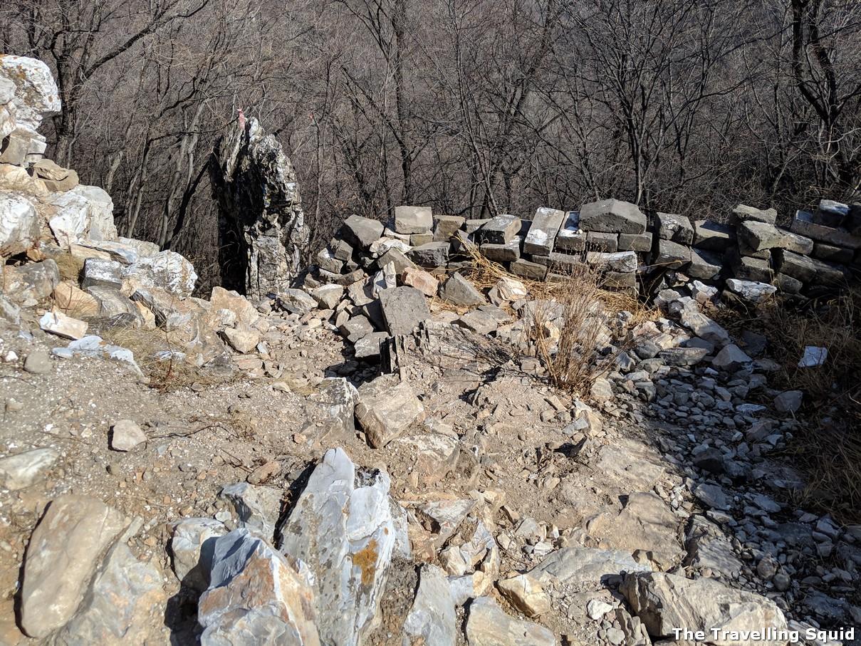 Zhang bei lou Hiking along The Great Wall from Jiankou to Mutianyu