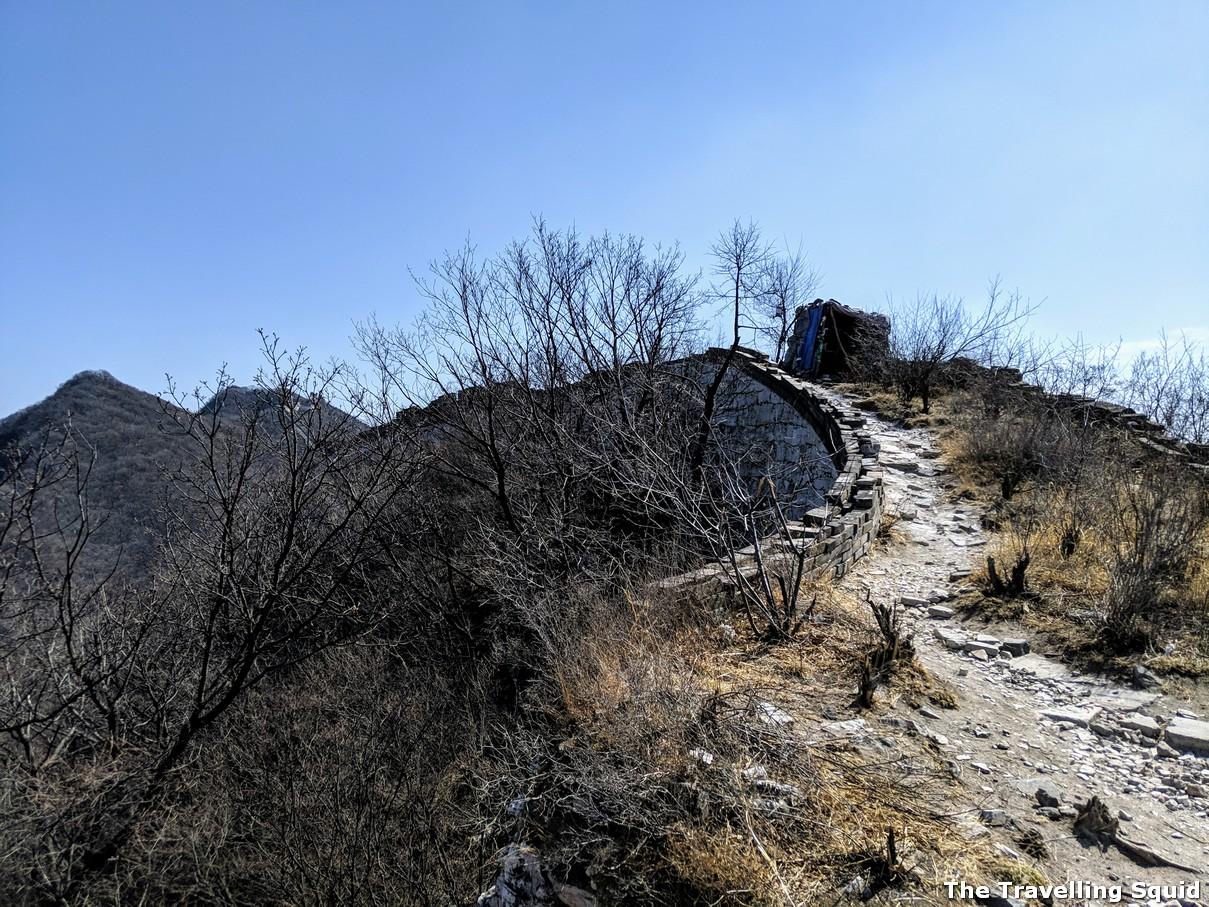 watchtower jiankou great wall of china