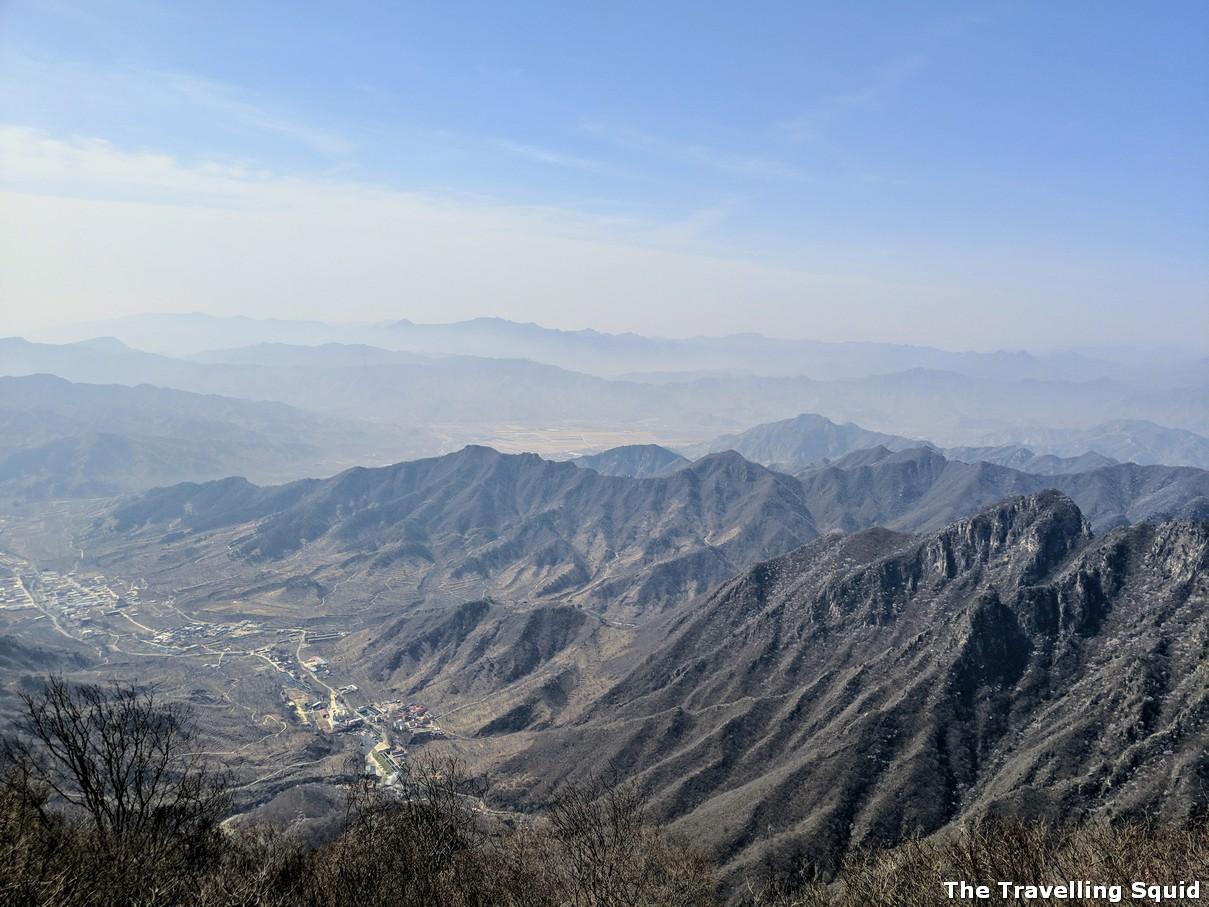 viewpoint jiankou mutianyu hike great wall