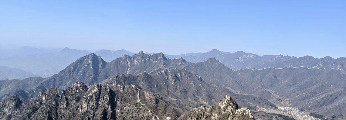 Great Wall hike from Jiankou to Mutianyu without a guide