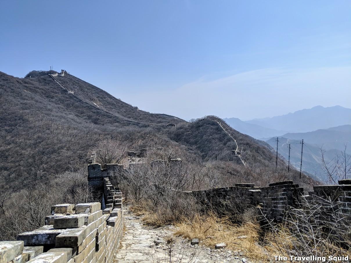 why jiankou mutianyu great wall must go