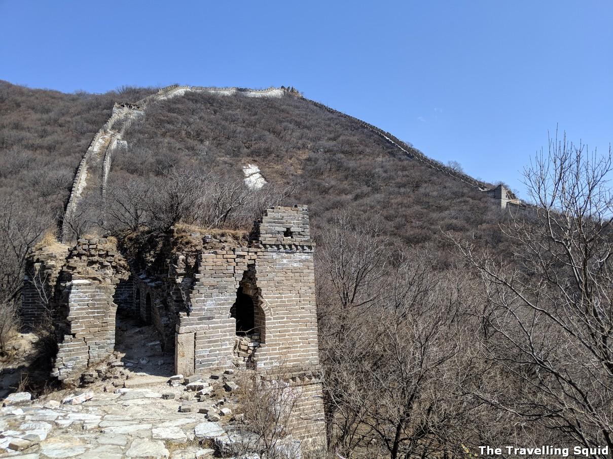 ox horn Great Wall hike from Jiankou to Mutianyu
