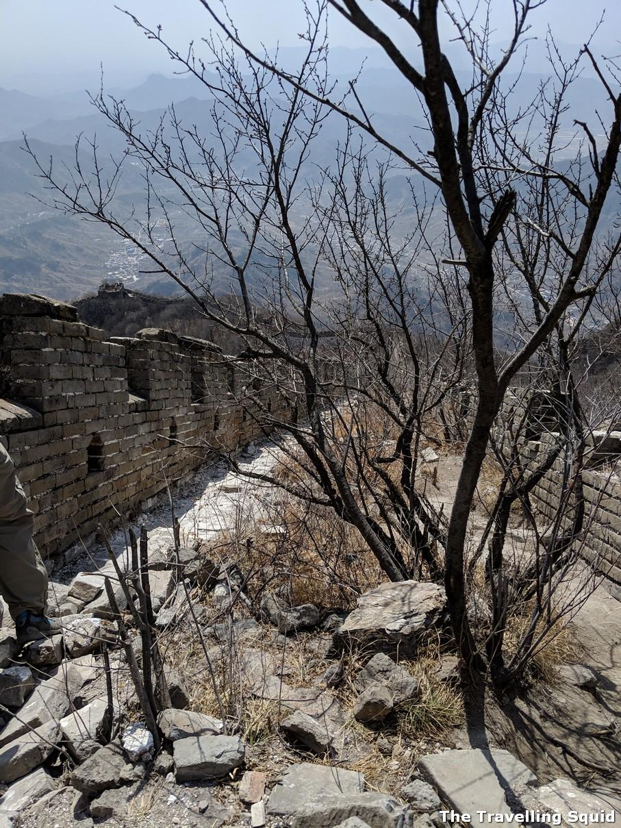six hour Great Wall hike from Jiankou to Mutianyu