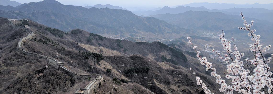 mutianyu great wall china hike