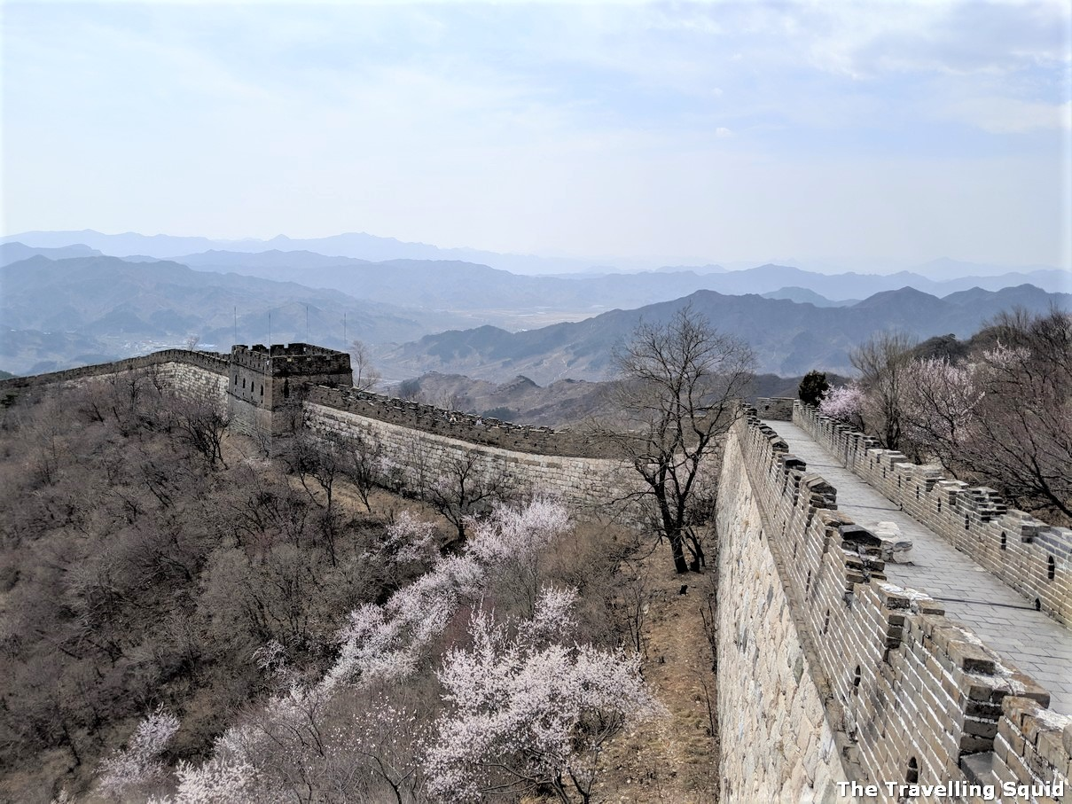 six hour Great Wall hike from Jiankou to Mutianyu