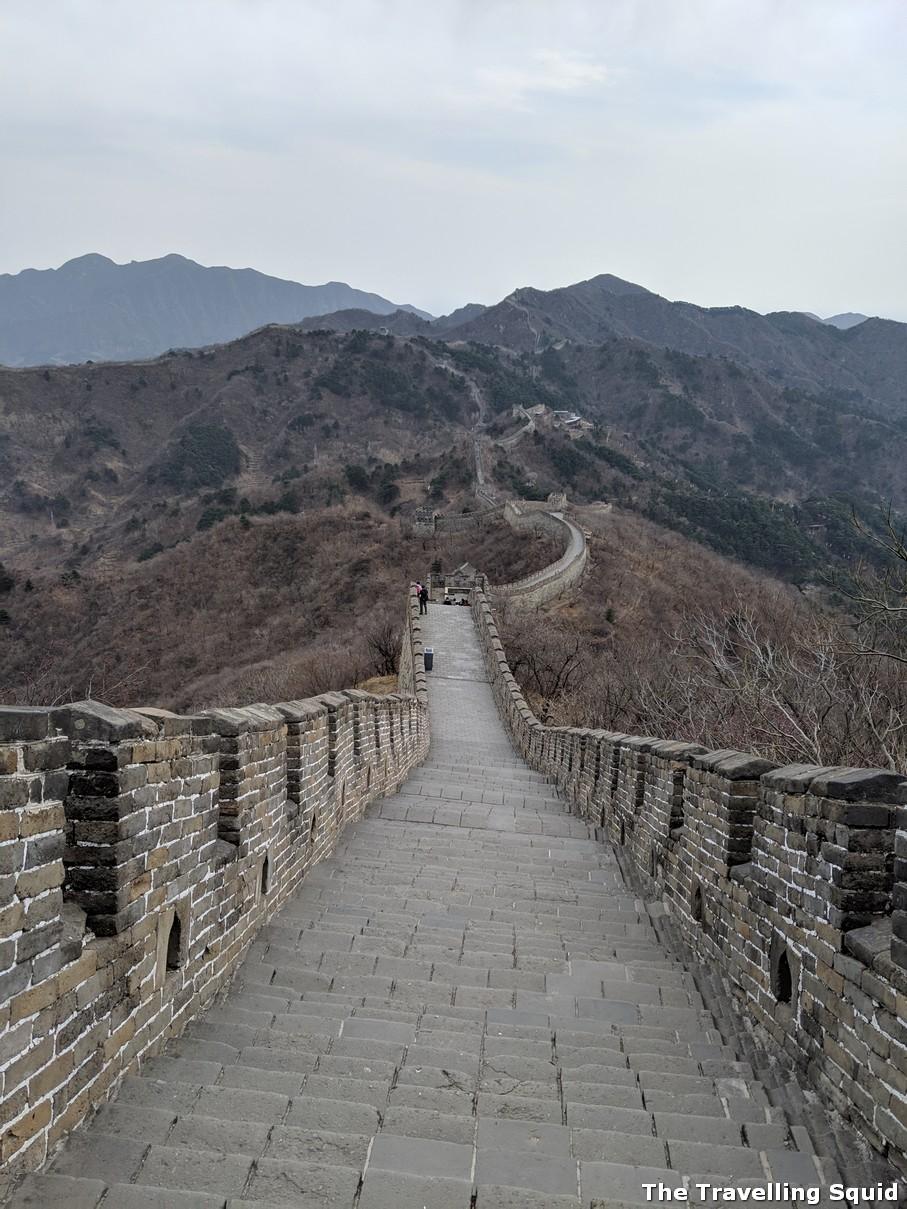 Great Wall hike Mutianyu