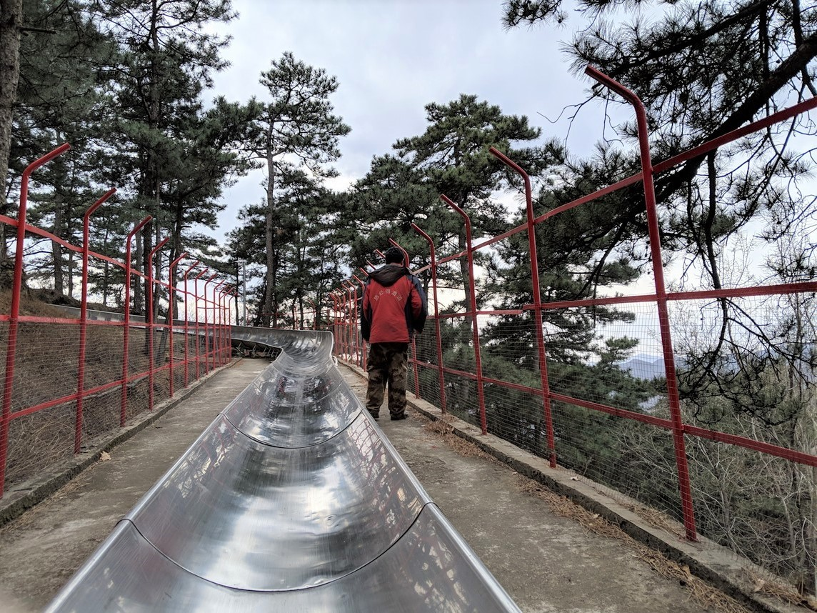 toboggan Great Wall of china Mutianyu