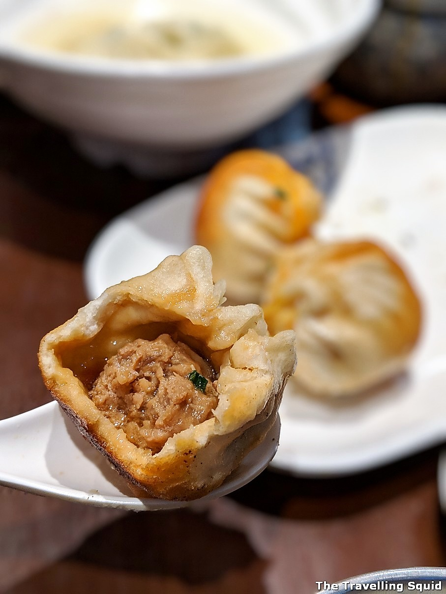 Da Hu Chun in Shanghai for steam fried dumplings