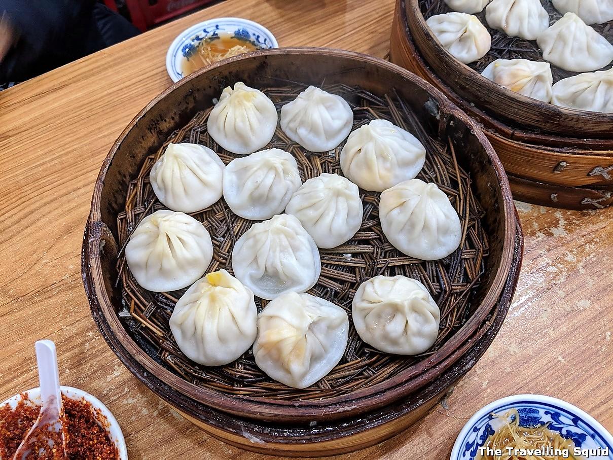 Jia Jia Tang Bao in Shanghai for good XiaoLongBao