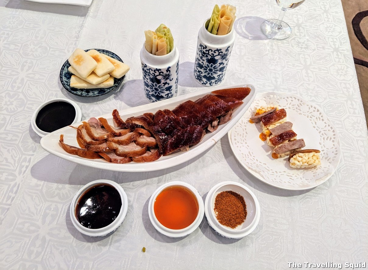 Peking Duck at HuaJia Yiyuan in Beijing