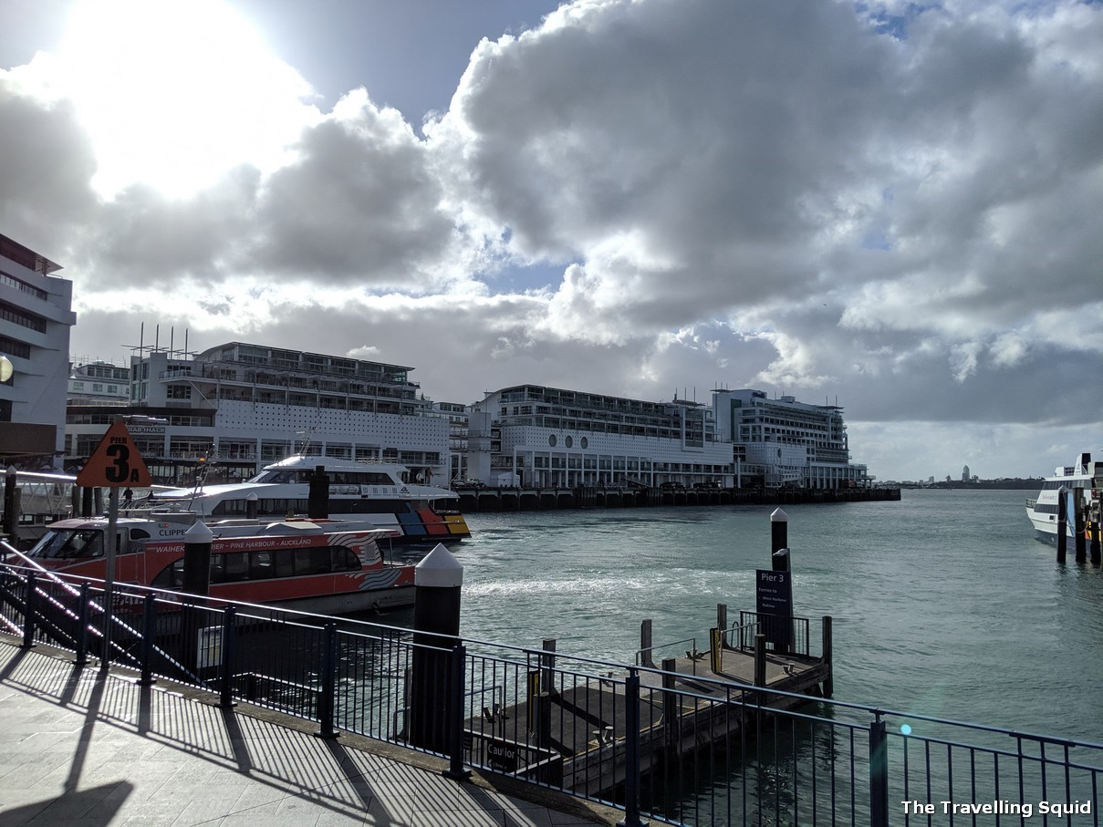 auckland pier harbour