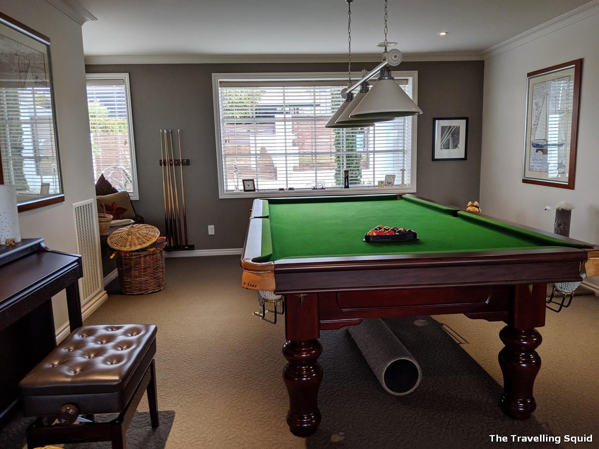 karanda bnb rotorua pool table