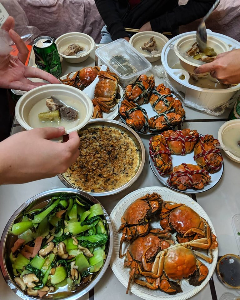 hairy crabs beijing