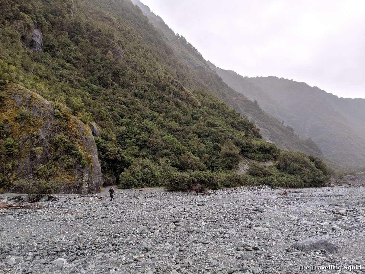 franz josef glacier riverbed