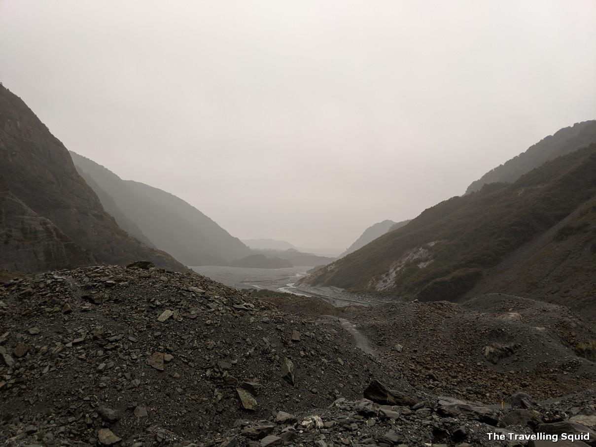 franz josef glacier viewpoint