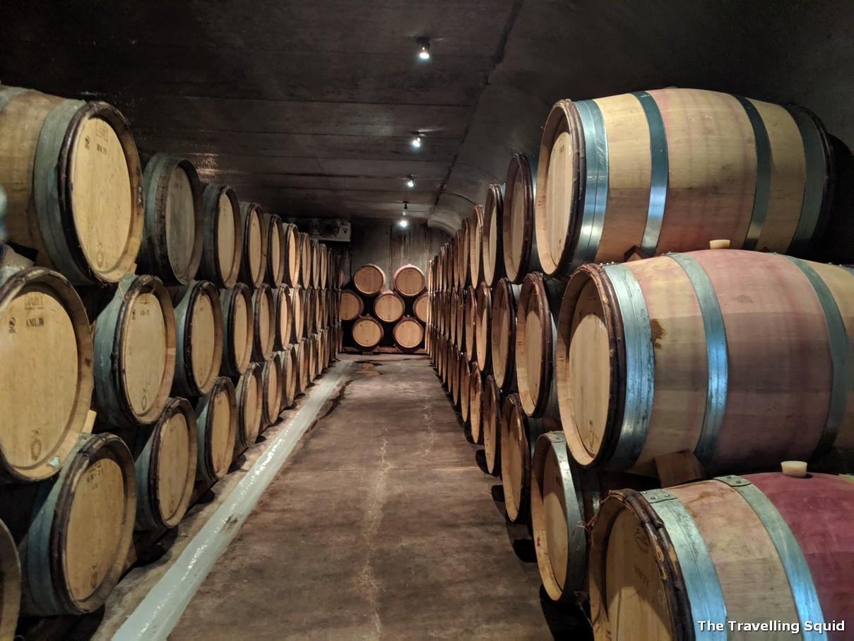 felton road cellar barrels