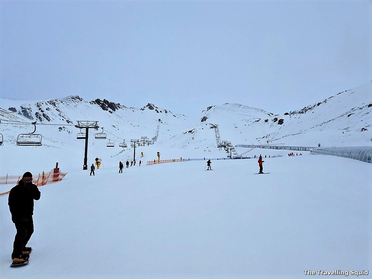skiing the remarkables queenstown