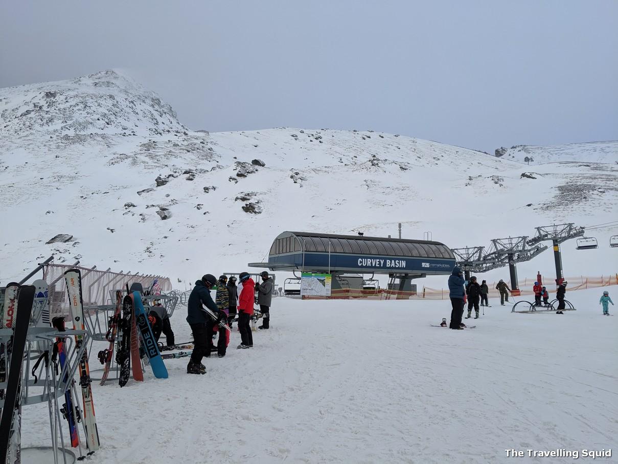 the remarkables ski slope queenstown