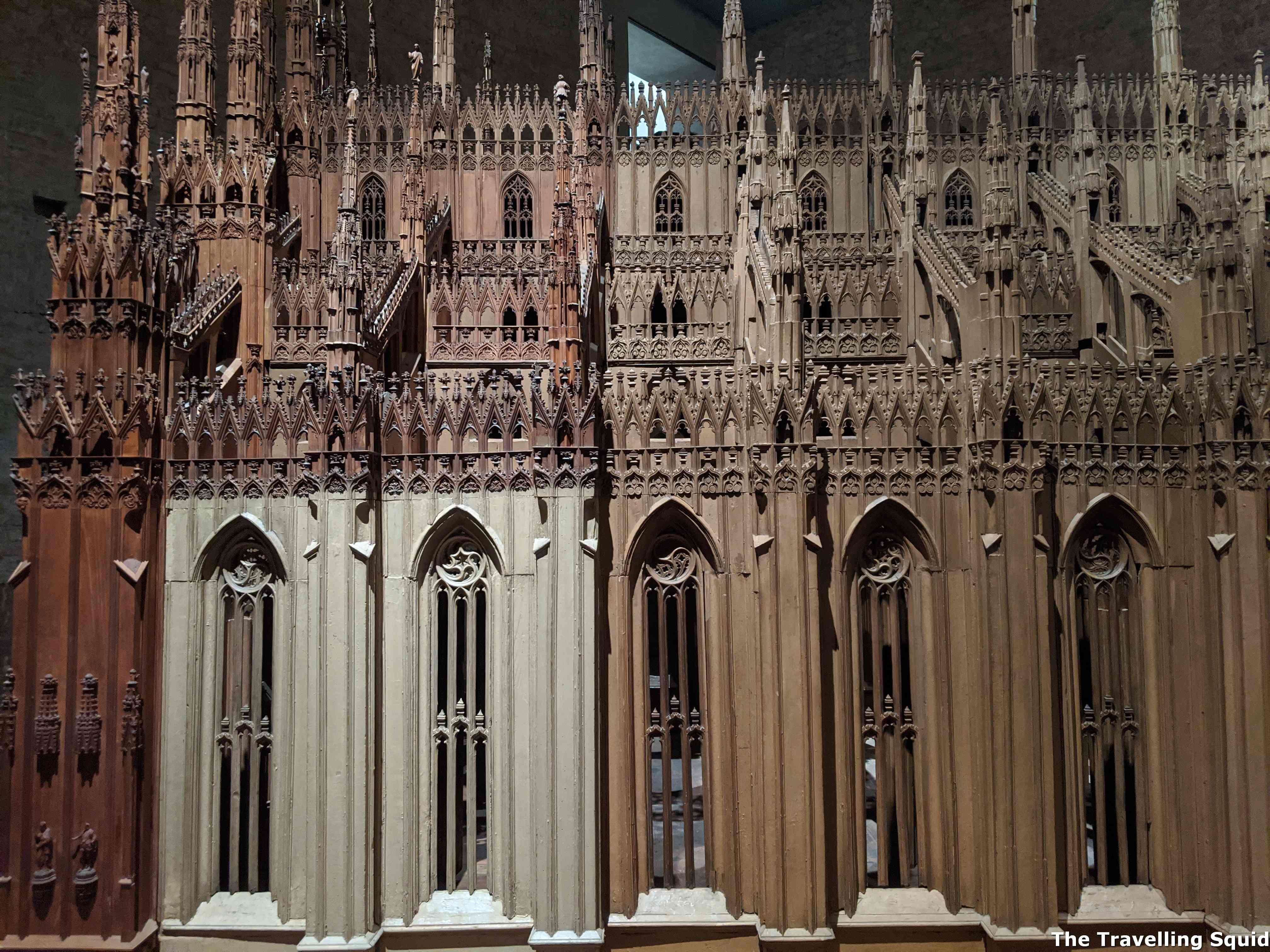 duomo di milano wooden model museum