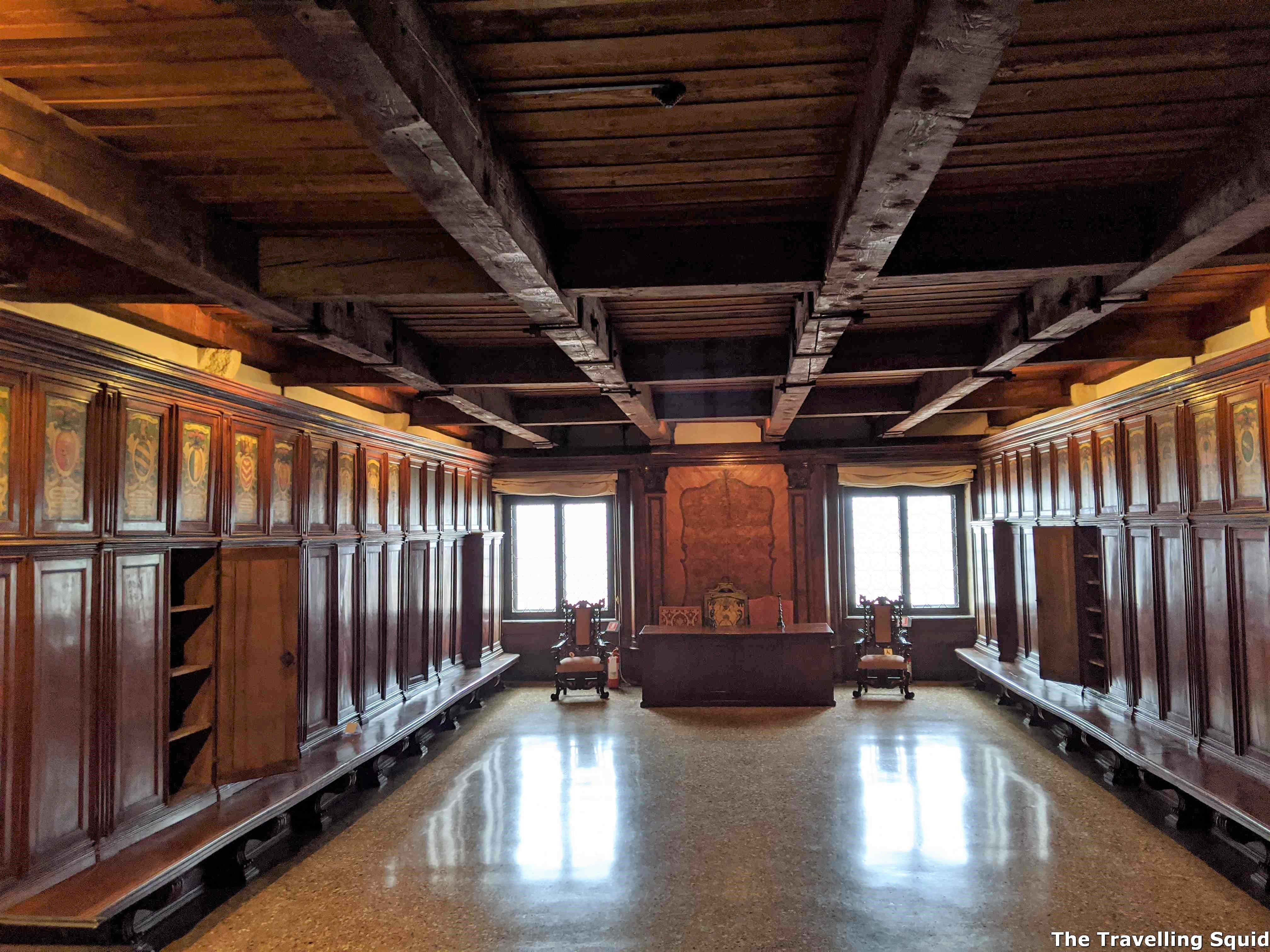 venetian archives doges palace