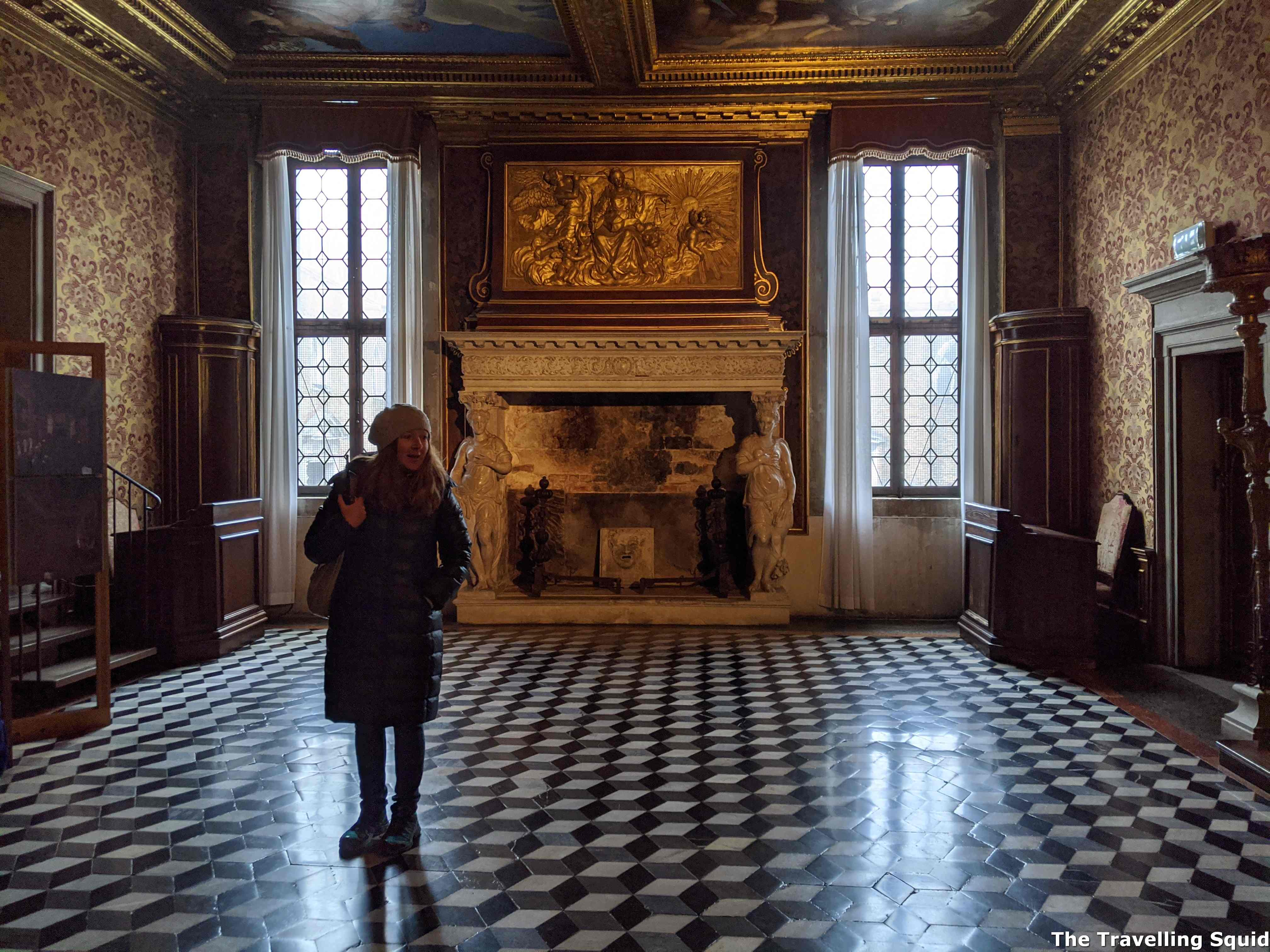 Secret Itineraries tour of the Doges Palace in Venice guide