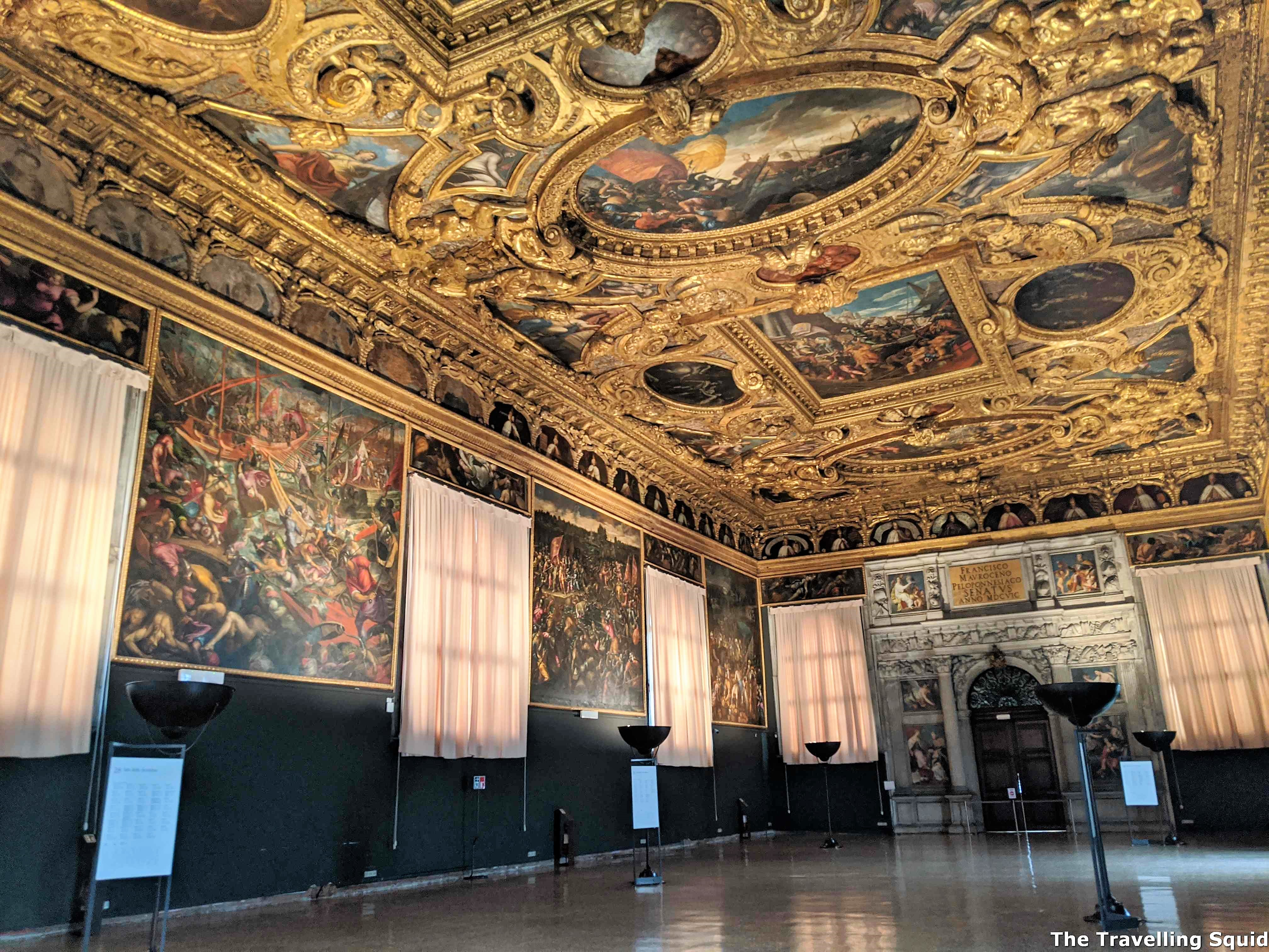Chamber of the Scrutinio doges palace