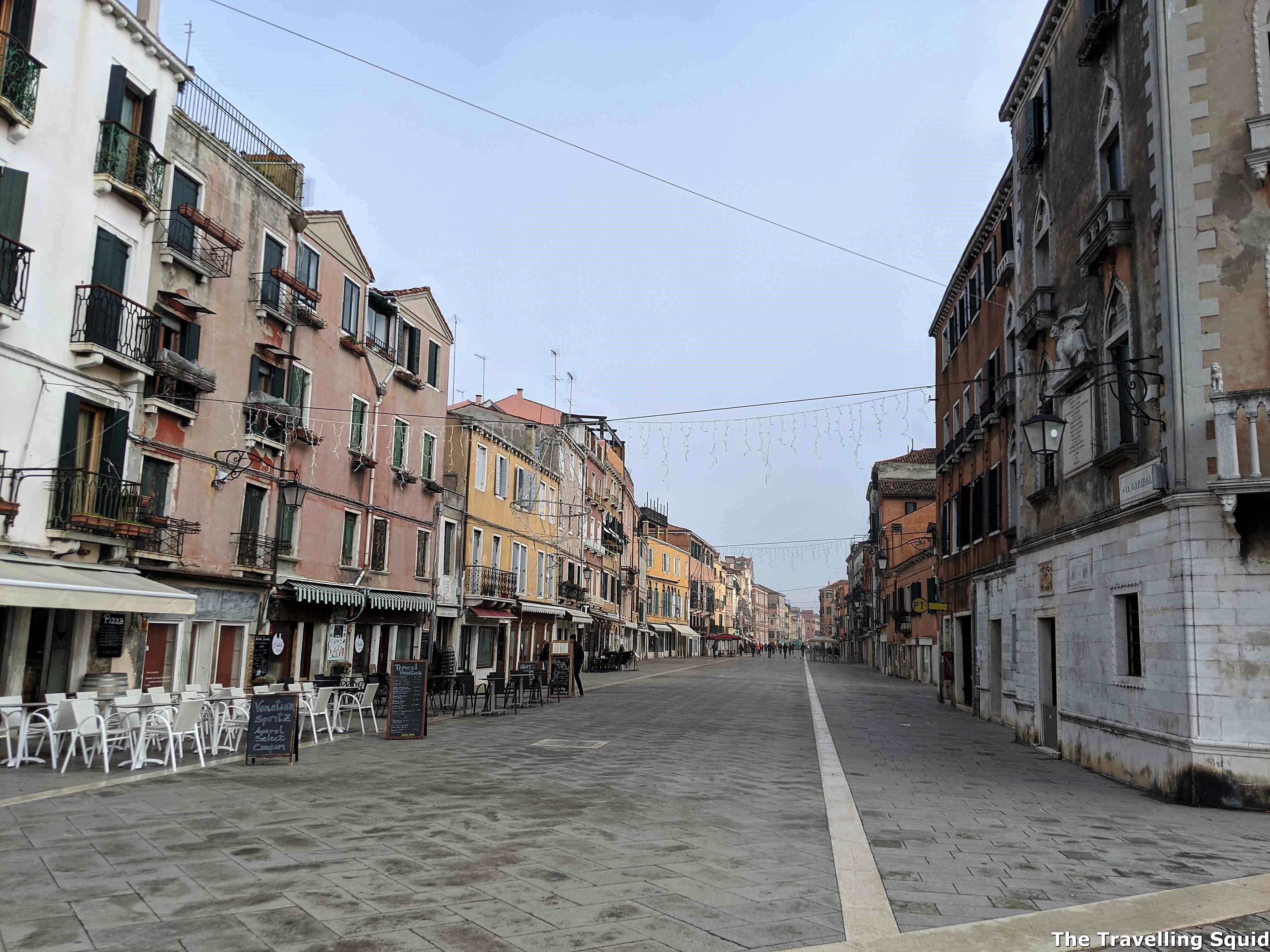 town square castello venice
