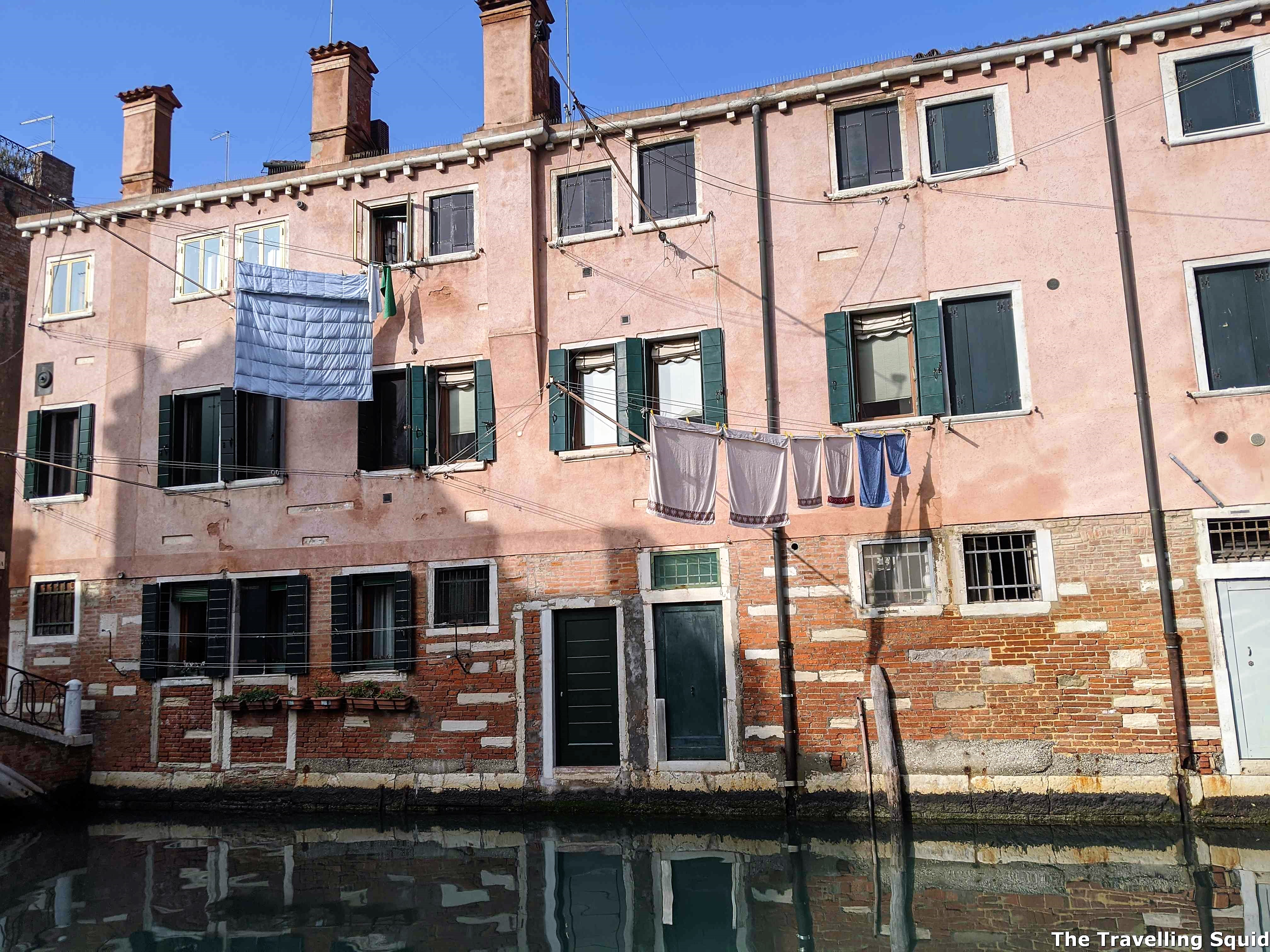 Why are there so many empty buildings in Venice