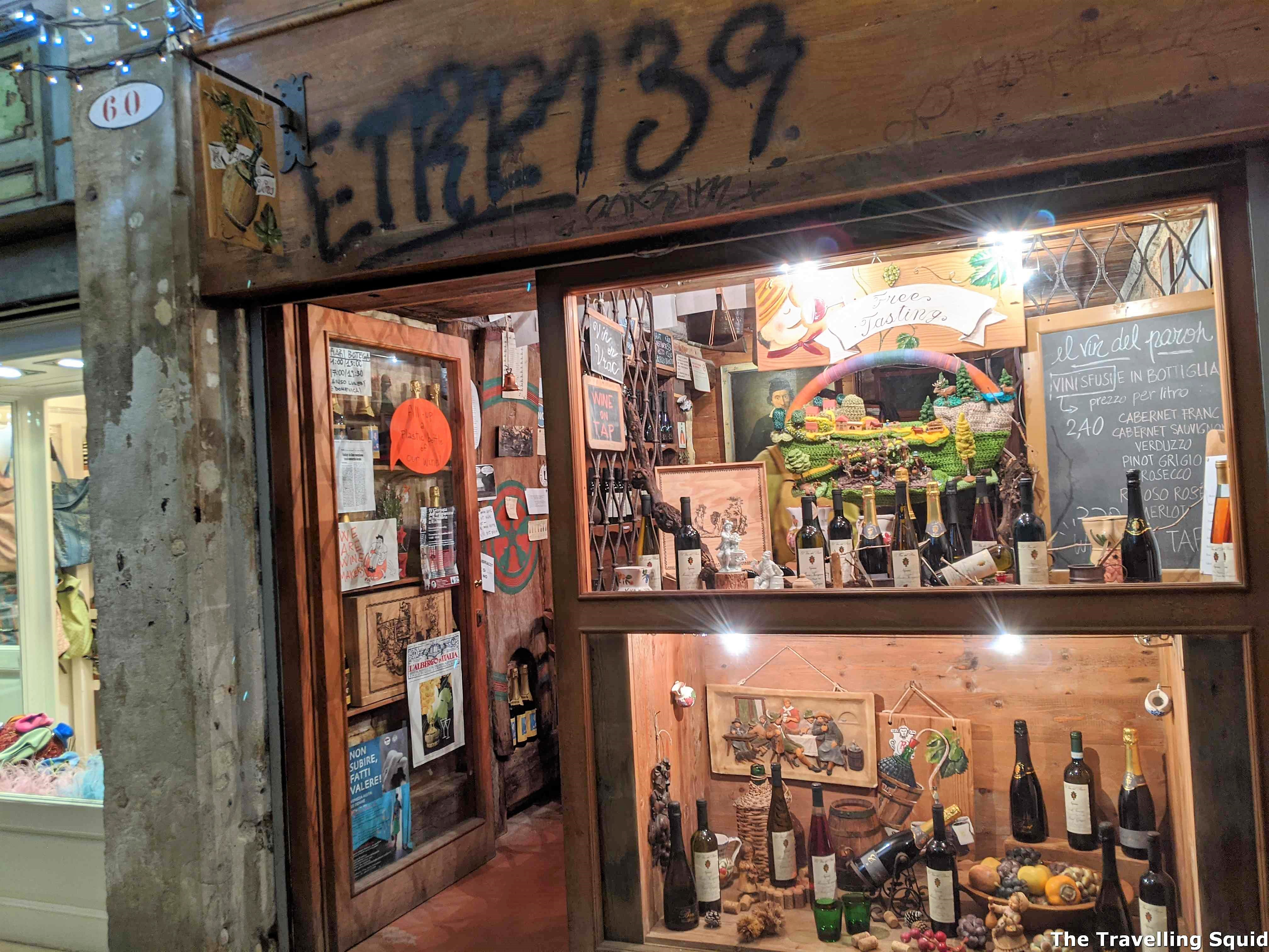 El Vin Del Paron for affordable wine in Venice