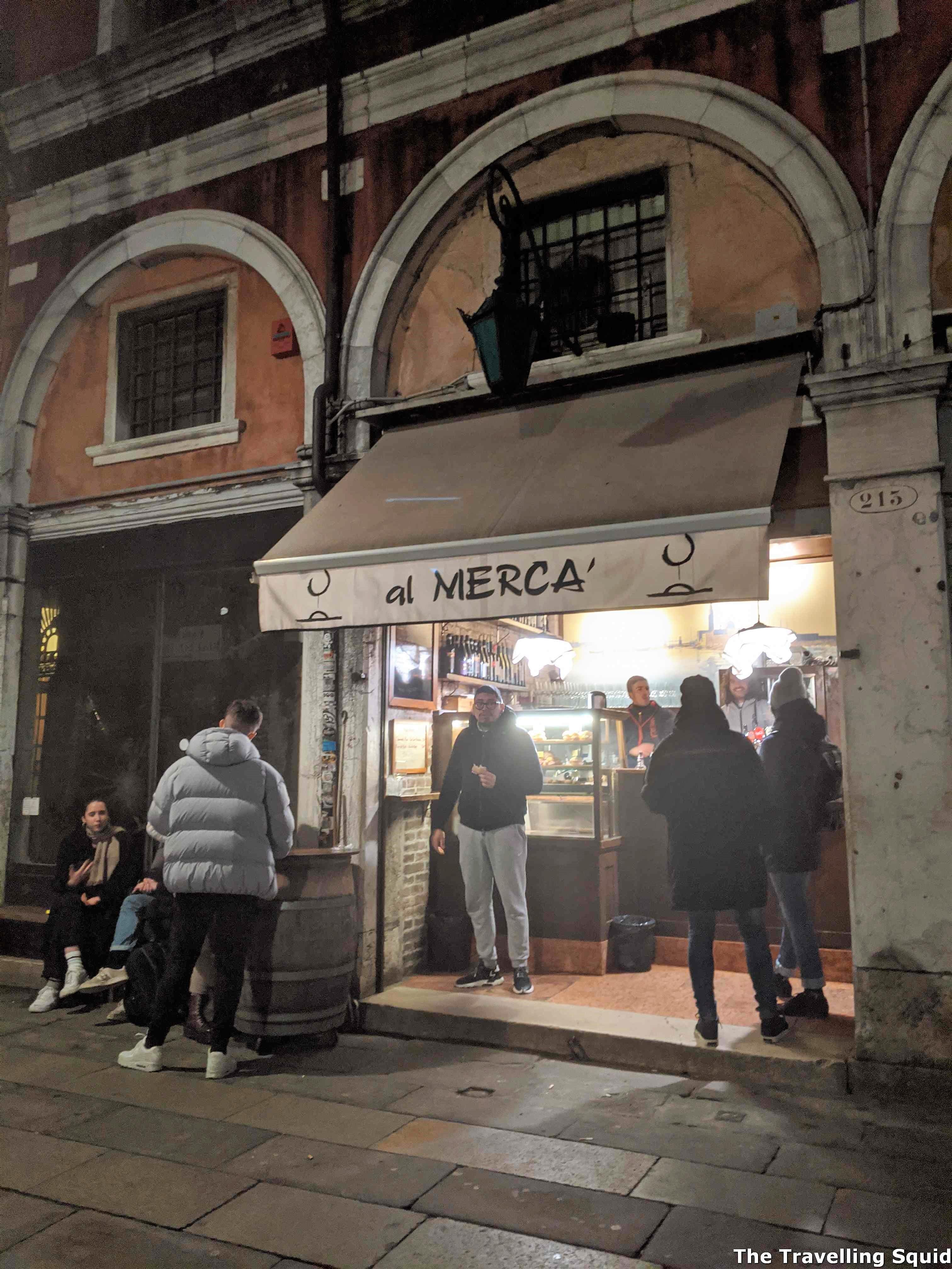 Visit the Al Merca Wine Bar in Venice