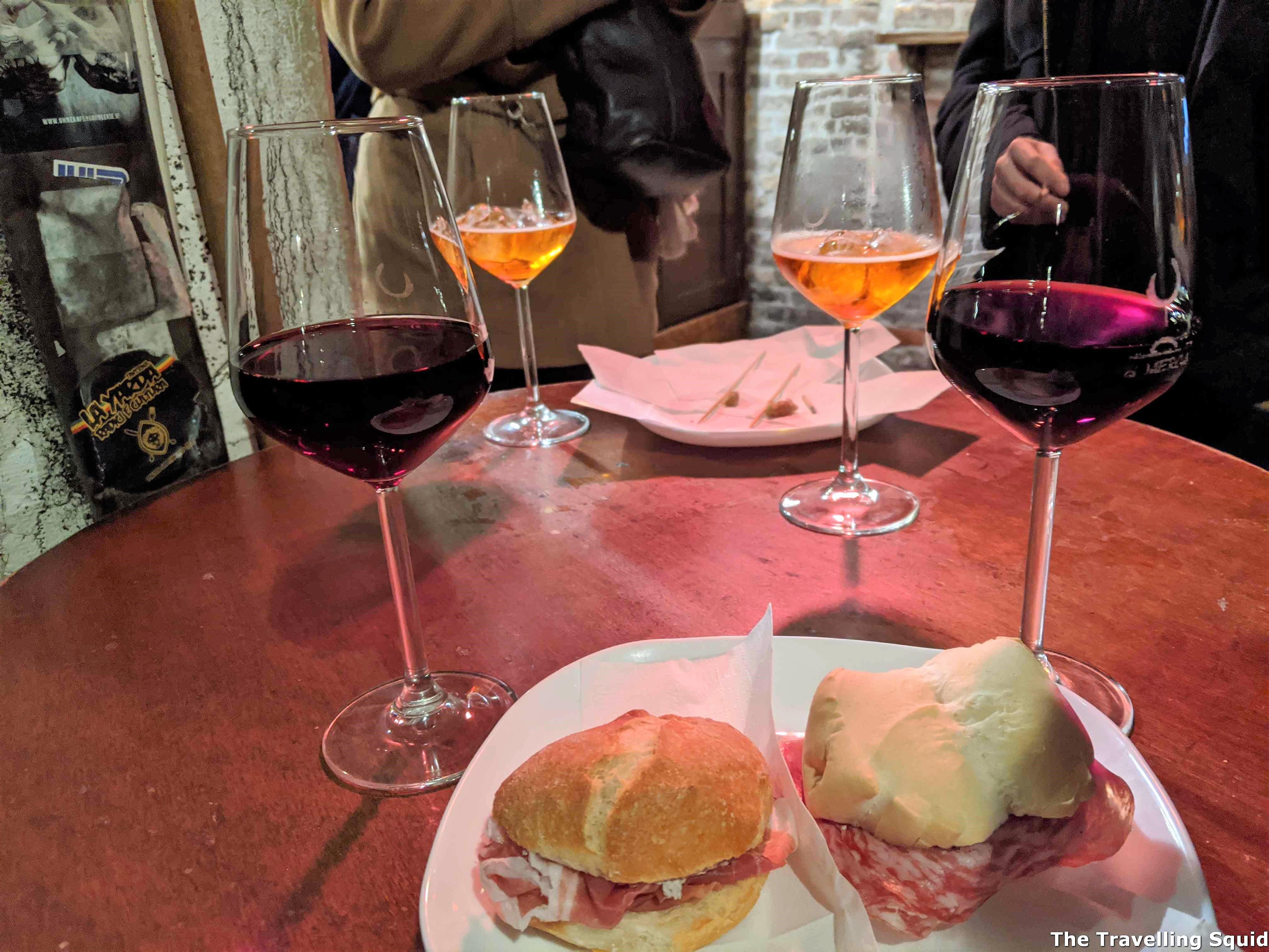 cicchetti Visit the Al Merca Wine Bar in Venice