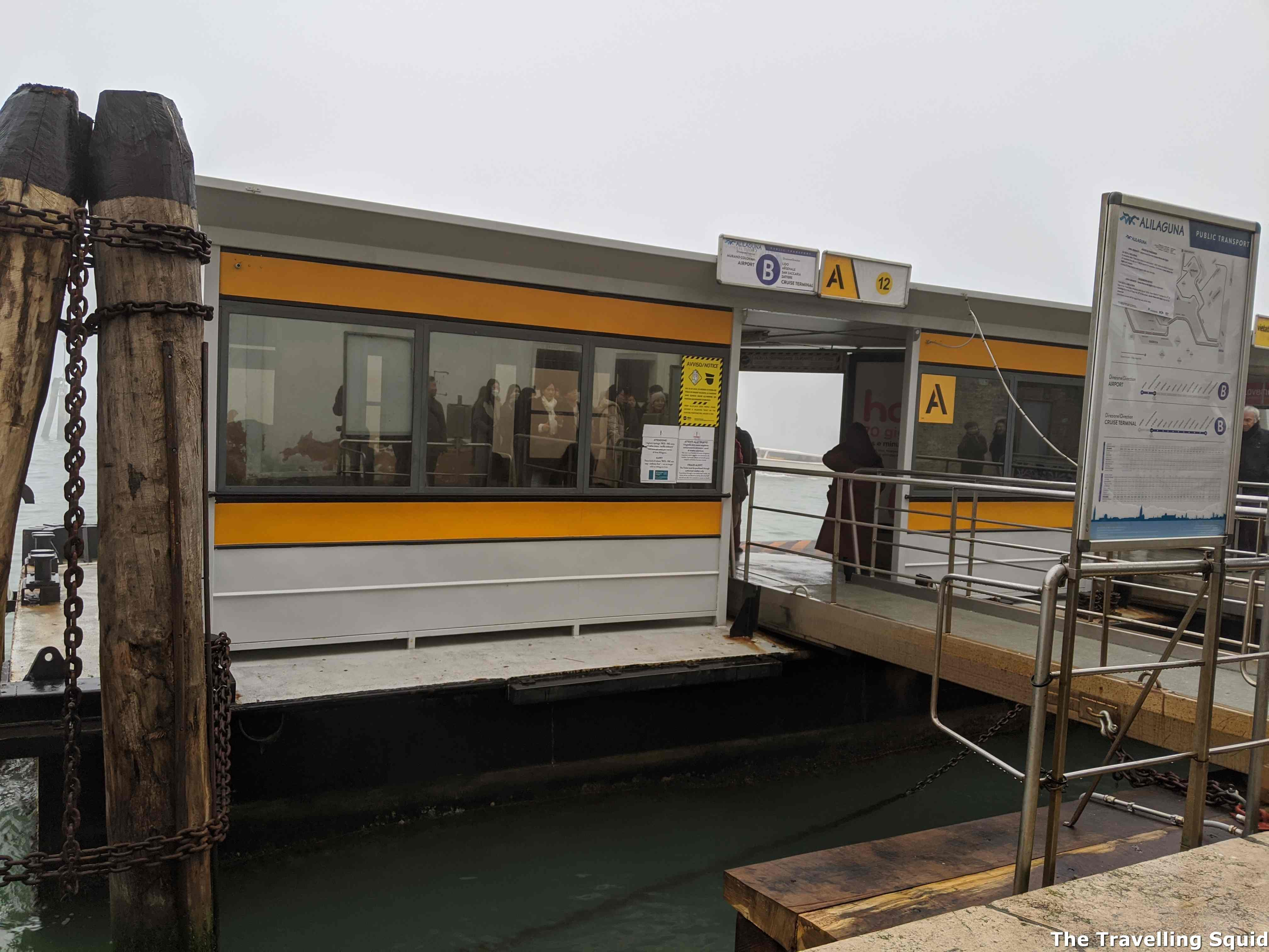 ferry to burano and murano fte nove