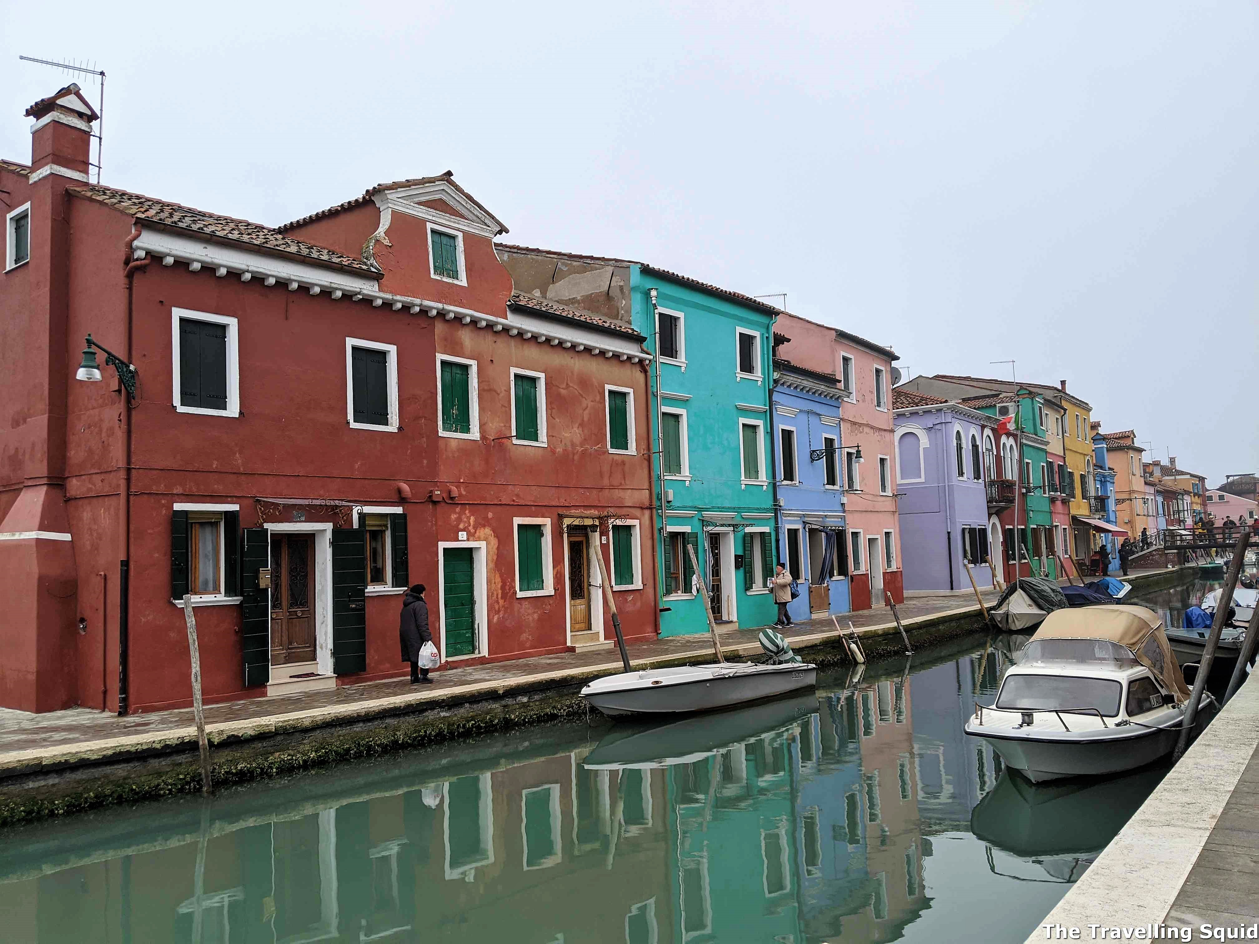 burano colourful houses venice