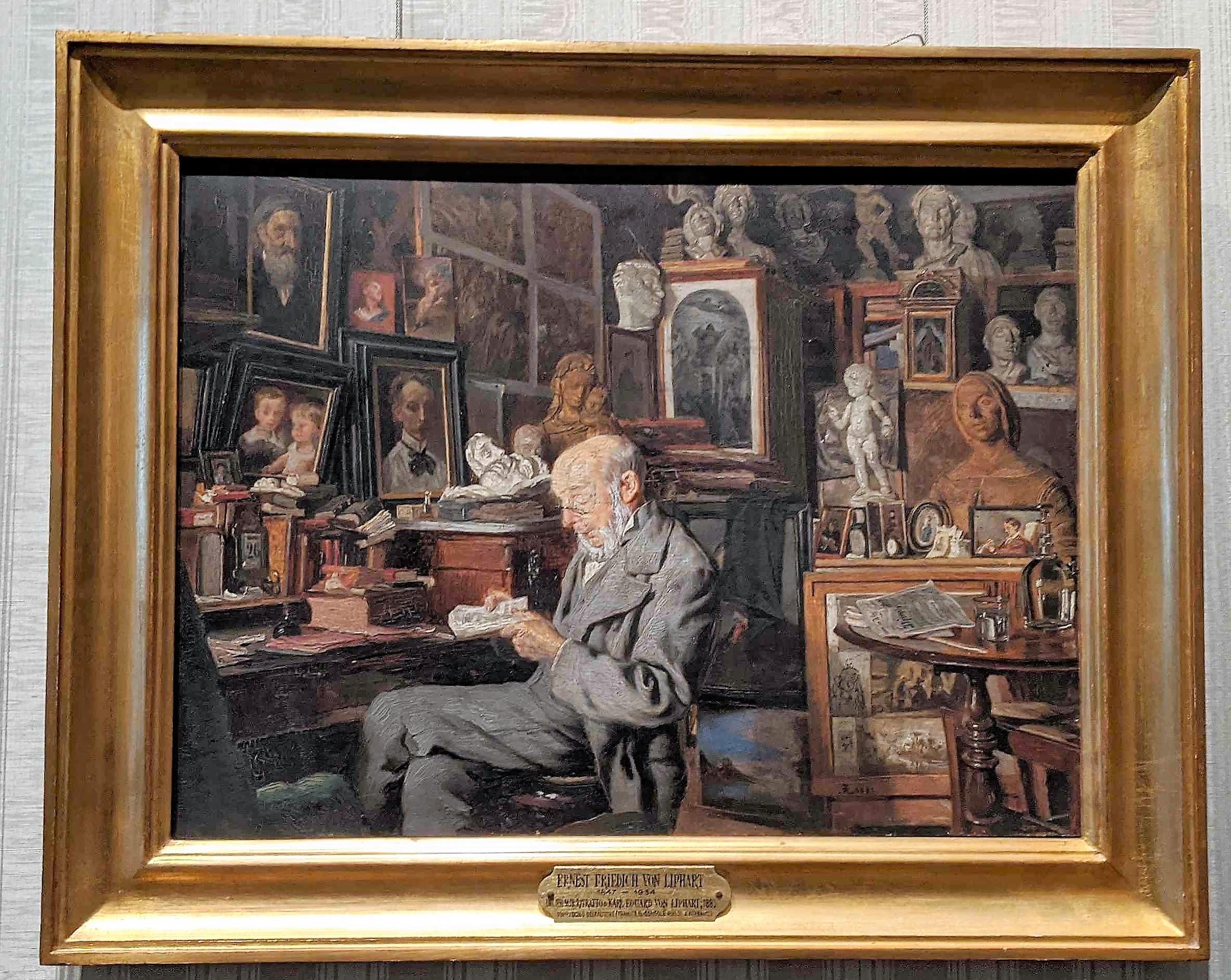 Ritratto di Karl Eduard von Liphard by Ernst Friedich von Liphart