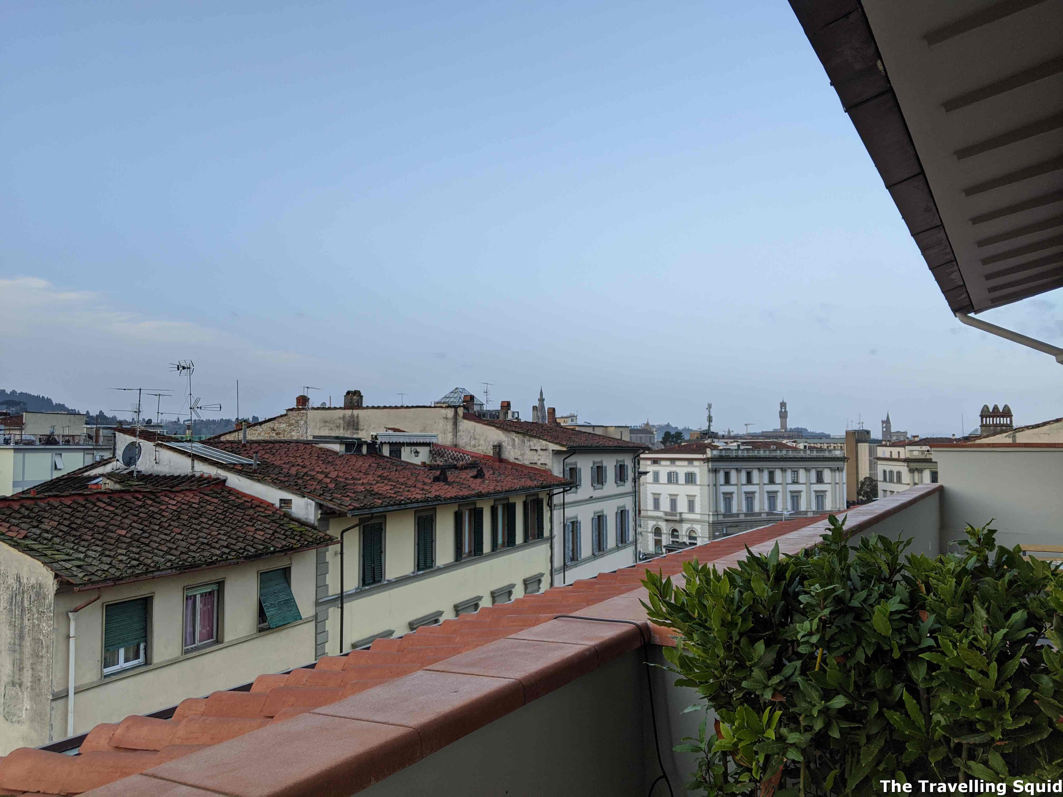 rooftop florence b&B the attico