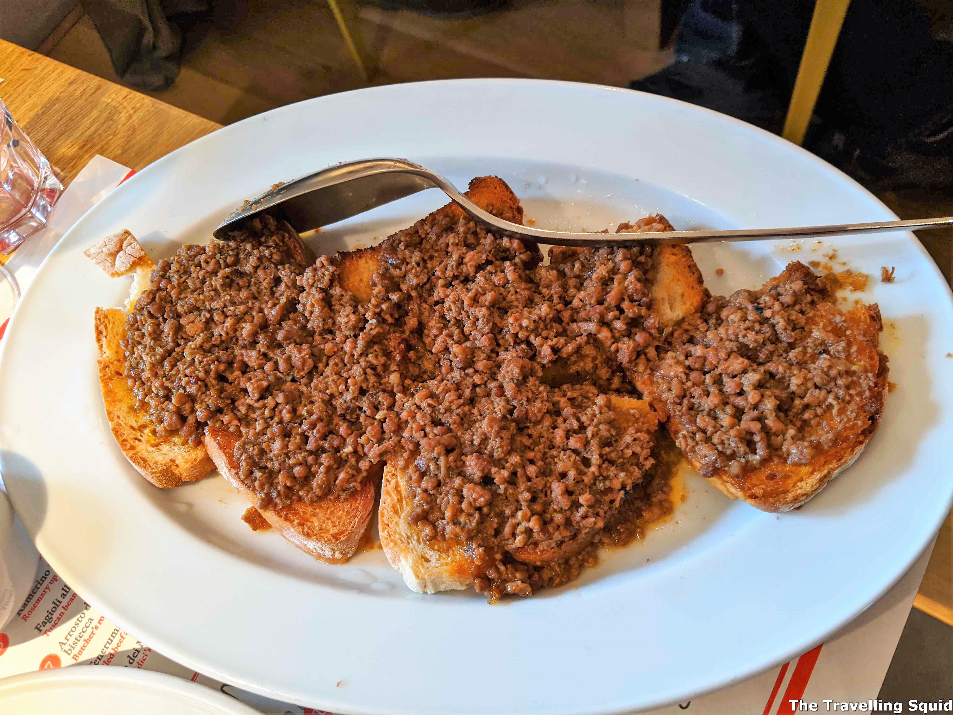 lunch at Dario CecchiniSolociccia
