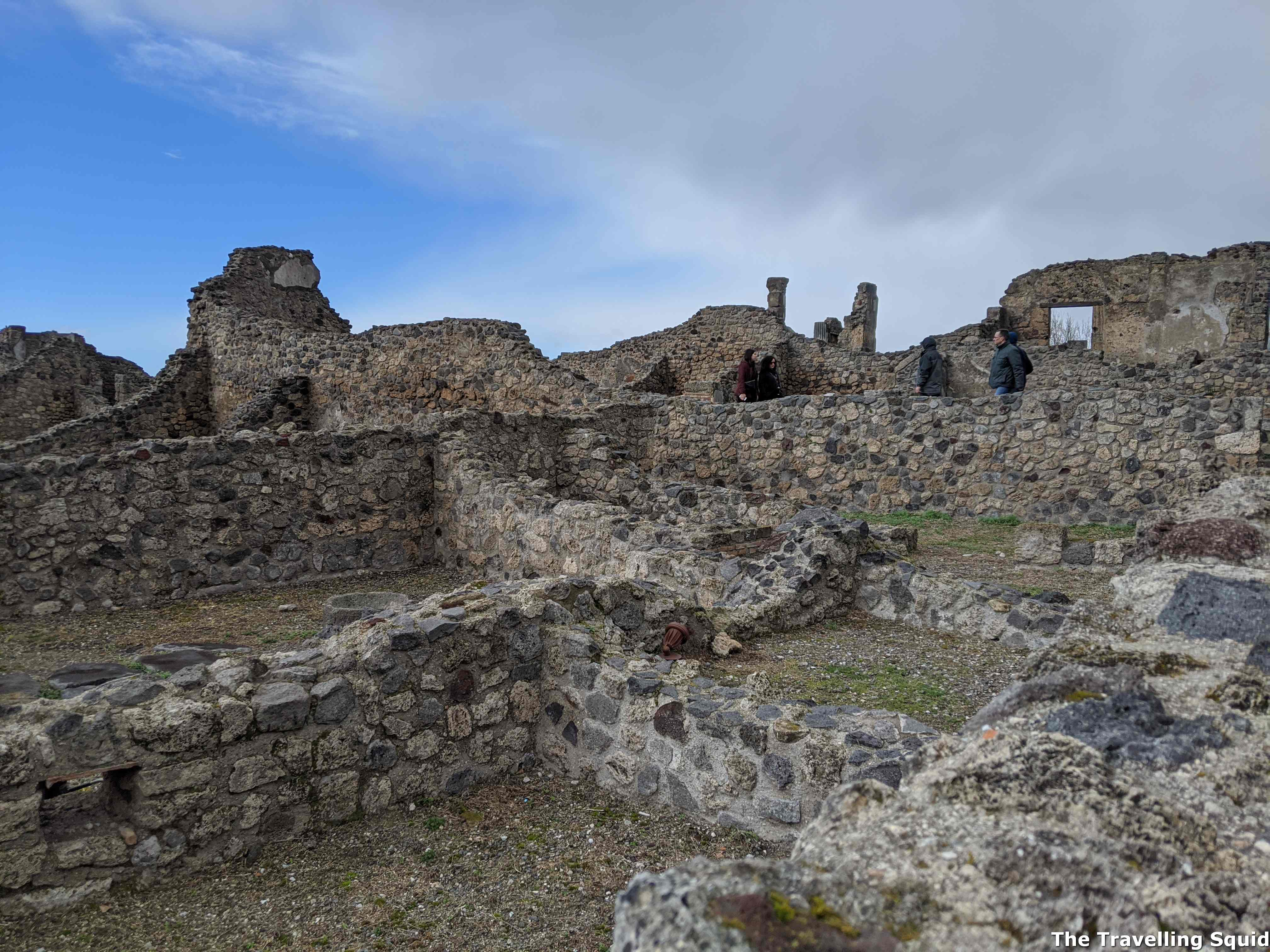 pompeii house of peasants