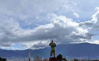 Daedalus Pompeii bronze statue
