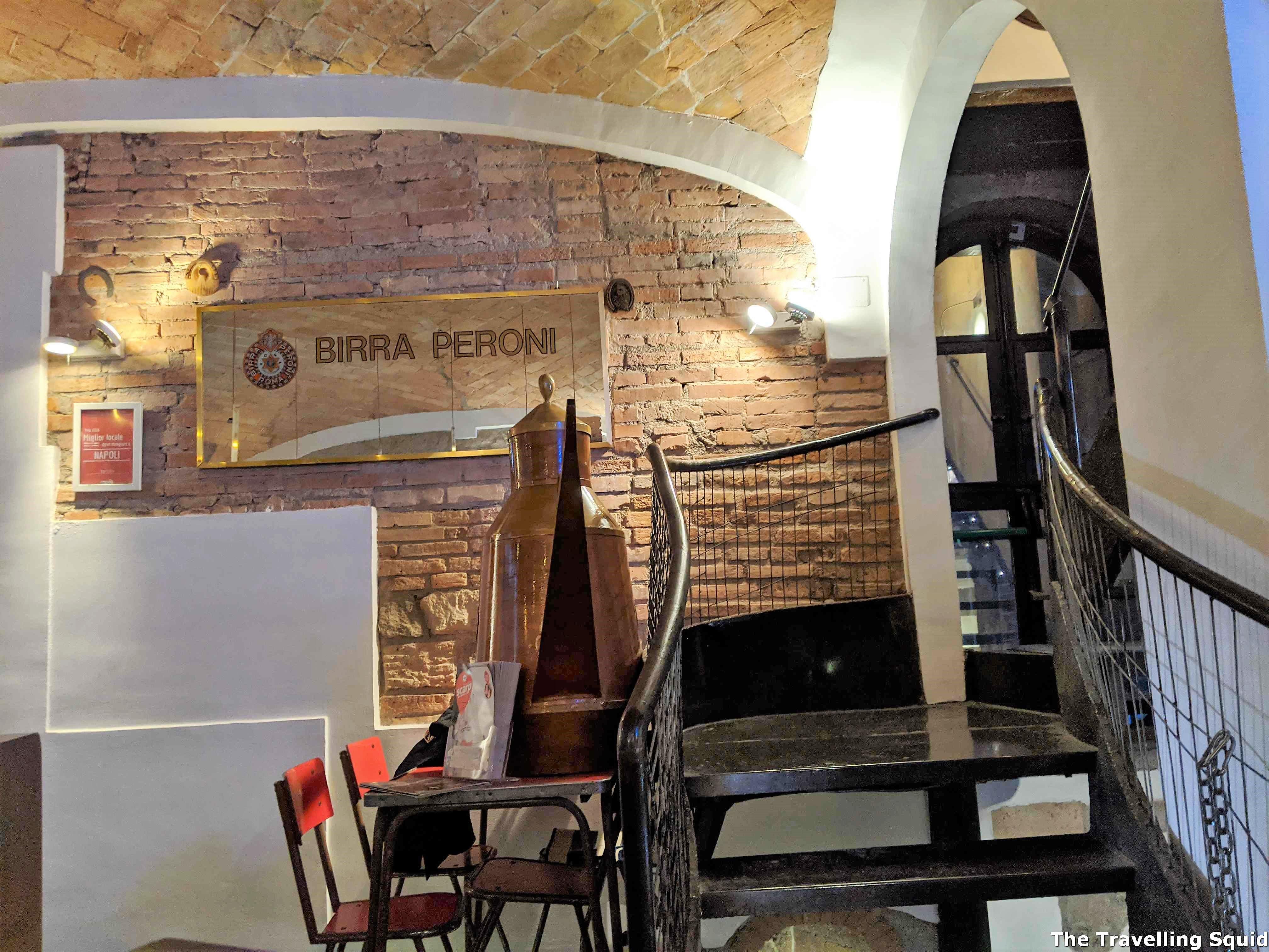 pizza at Esterina Sorbillo in Naples