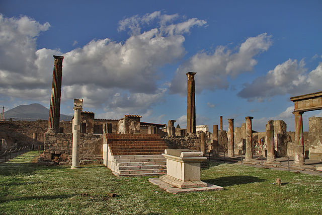Temple of Apollo, Pompeii