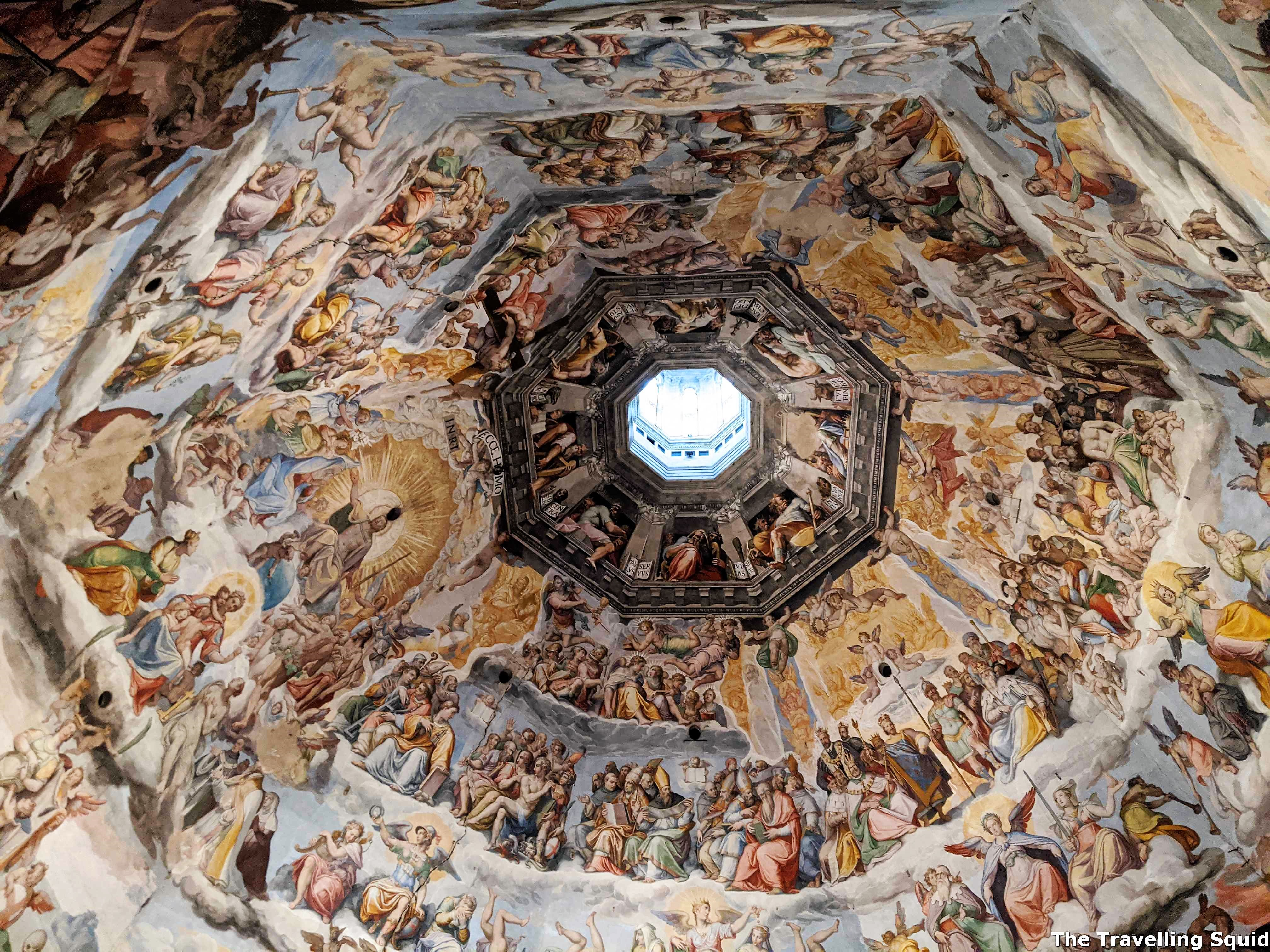dome painting florence cathedral