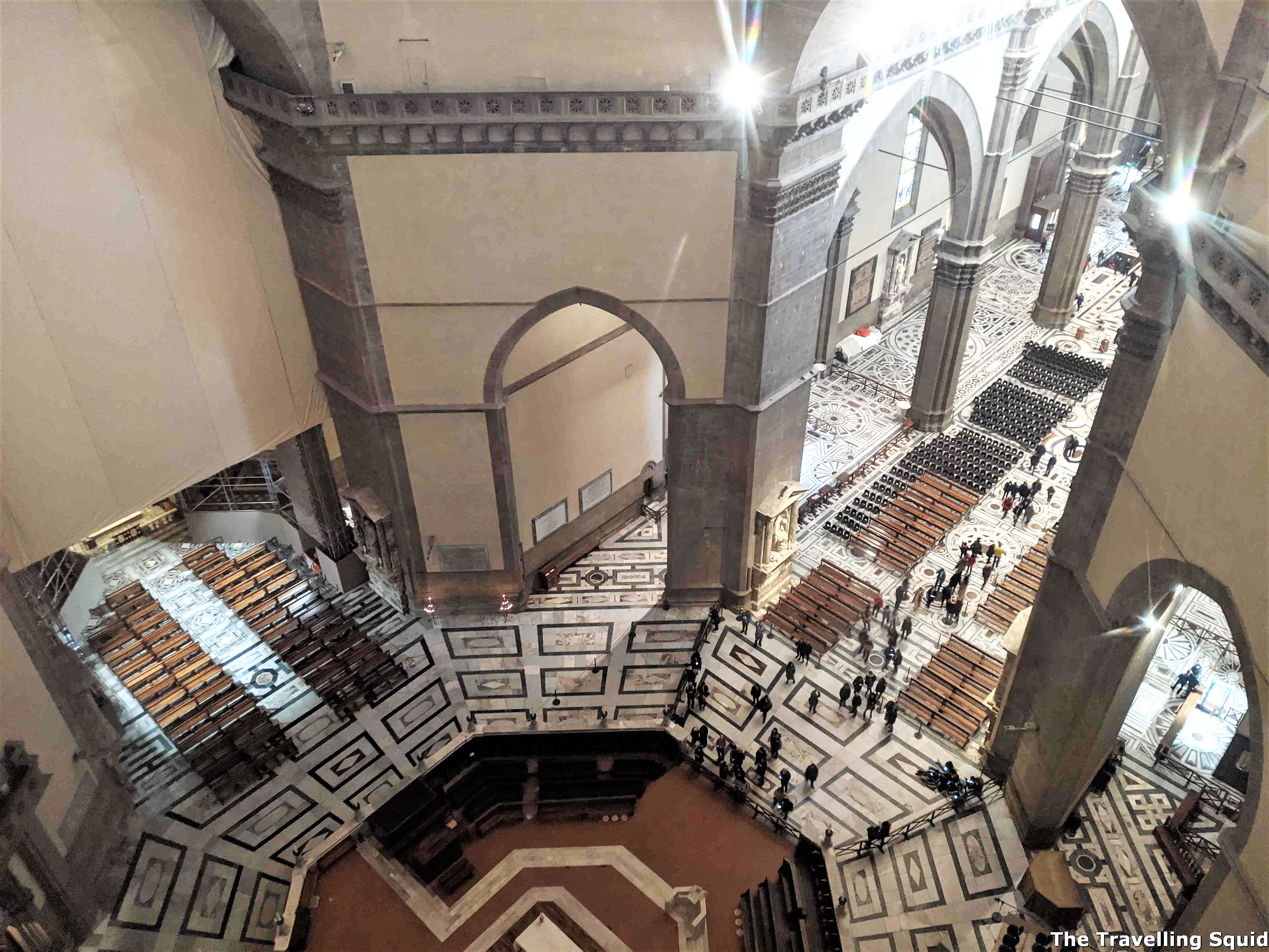 two day itinerary in Florence and Pisa Florence Cathedral hall