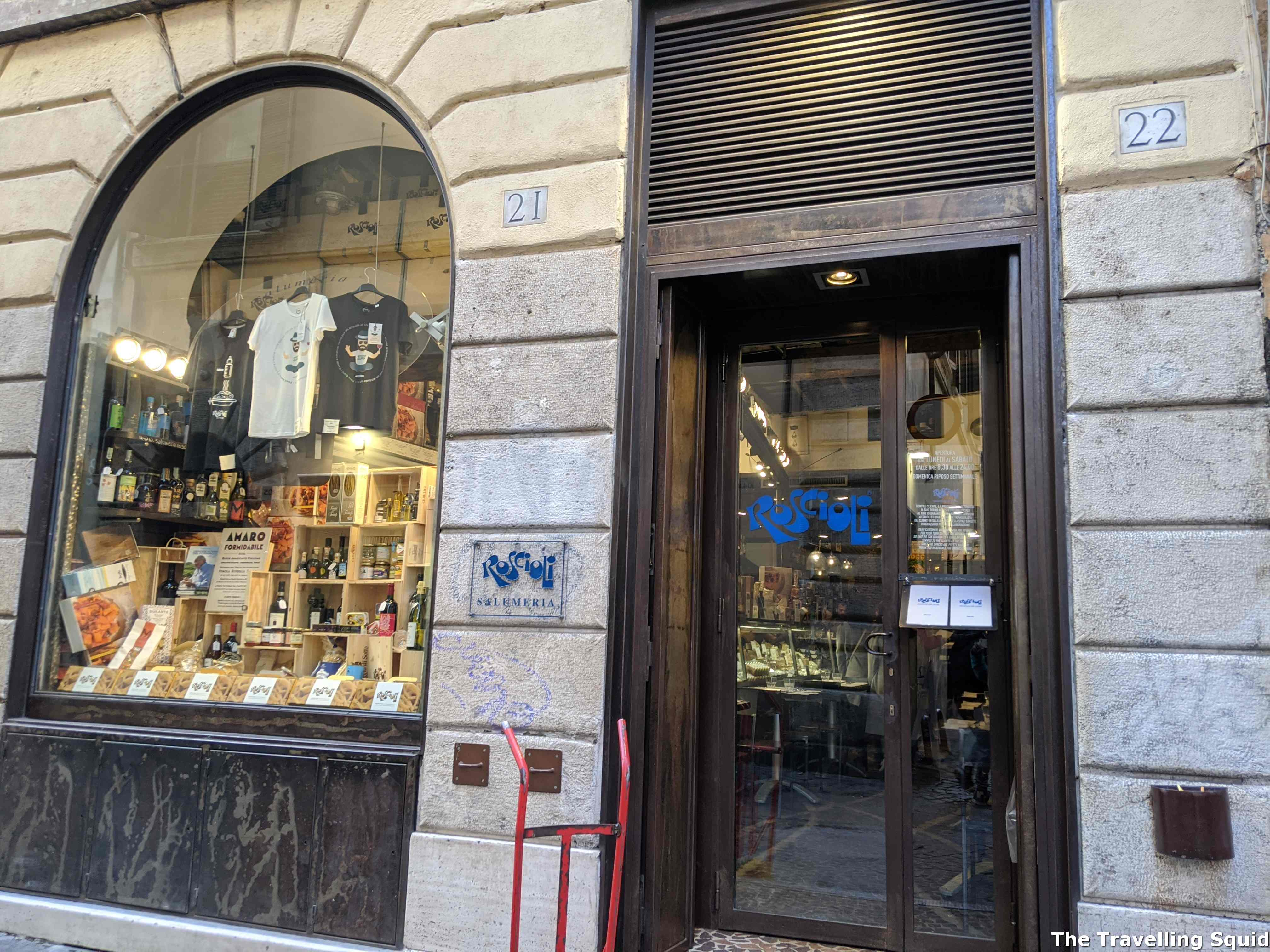 Roscioli in Rome for authentic Roman cuisine